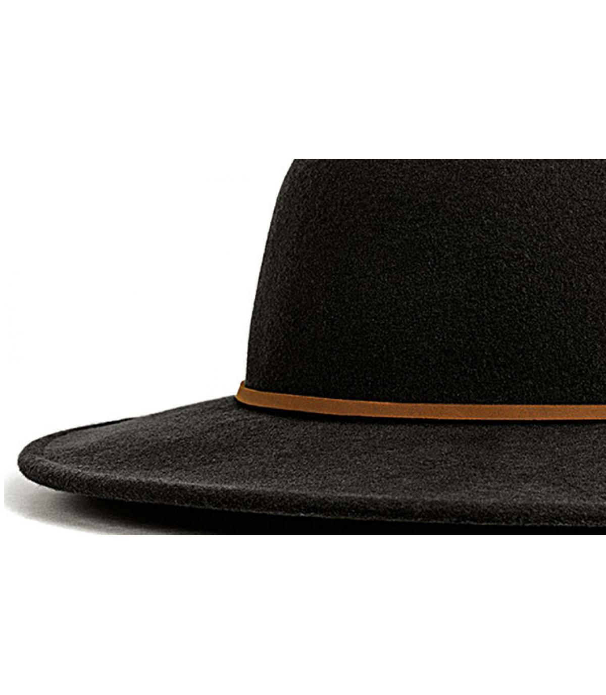 Details Tiller zwarte hoed - afbeeling 2