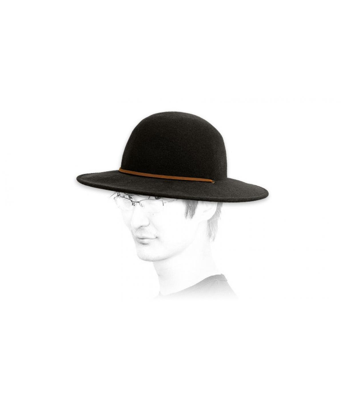 Details Tiller zwarte hoed - afbeeling 3