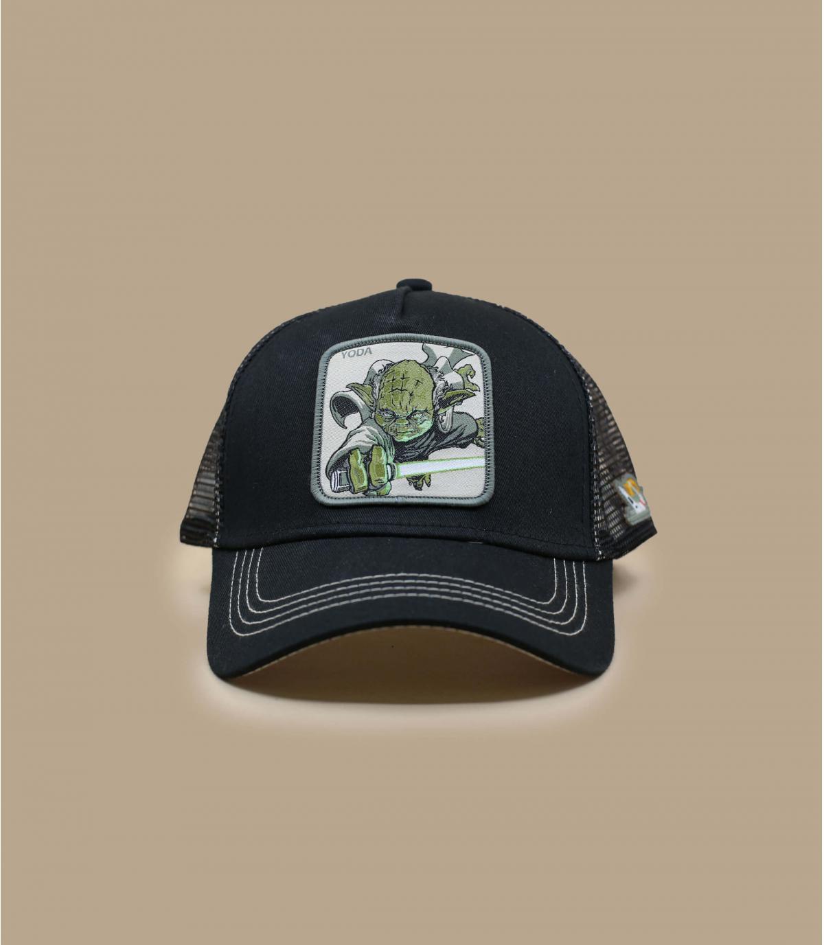 Details Trucker Yoda - afbeeling 2