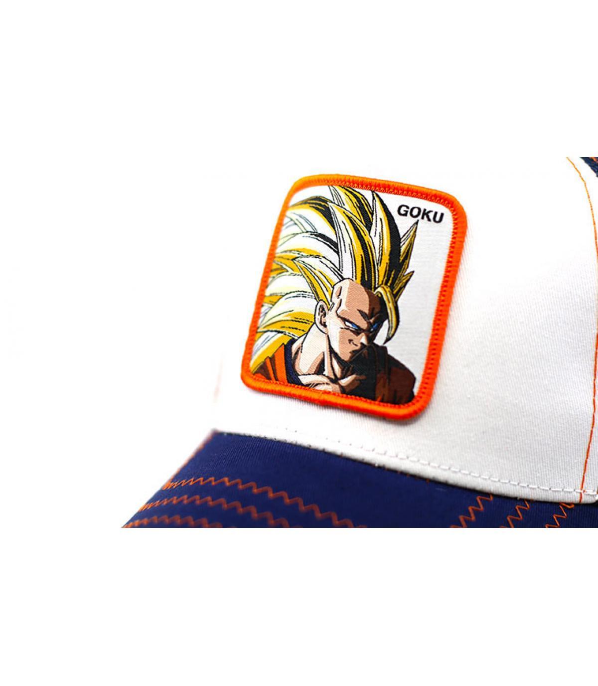 Details Trucker Son Goku Super Sayen 3 - afbeeling 3