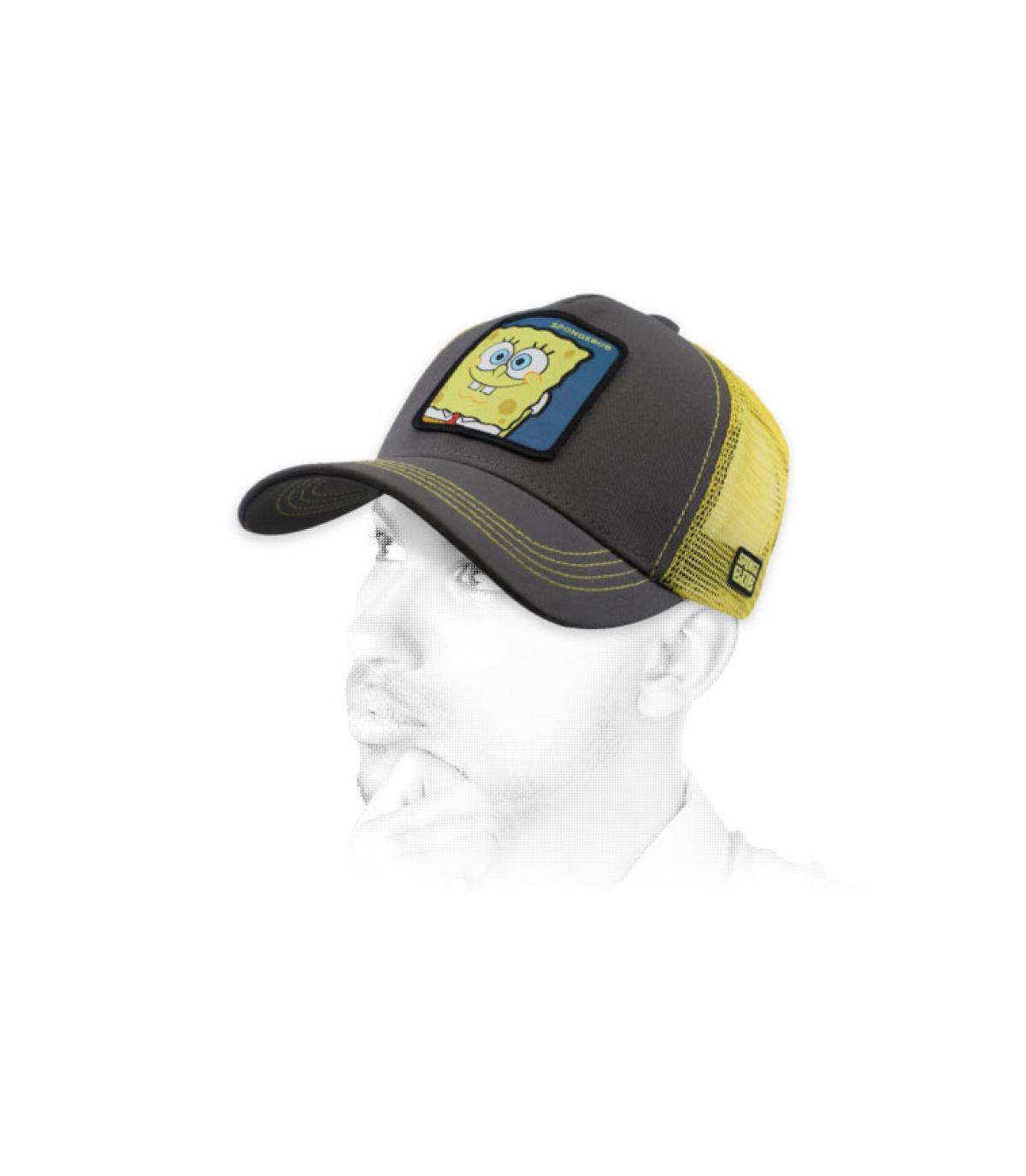 grijze SpongeBob-trucker