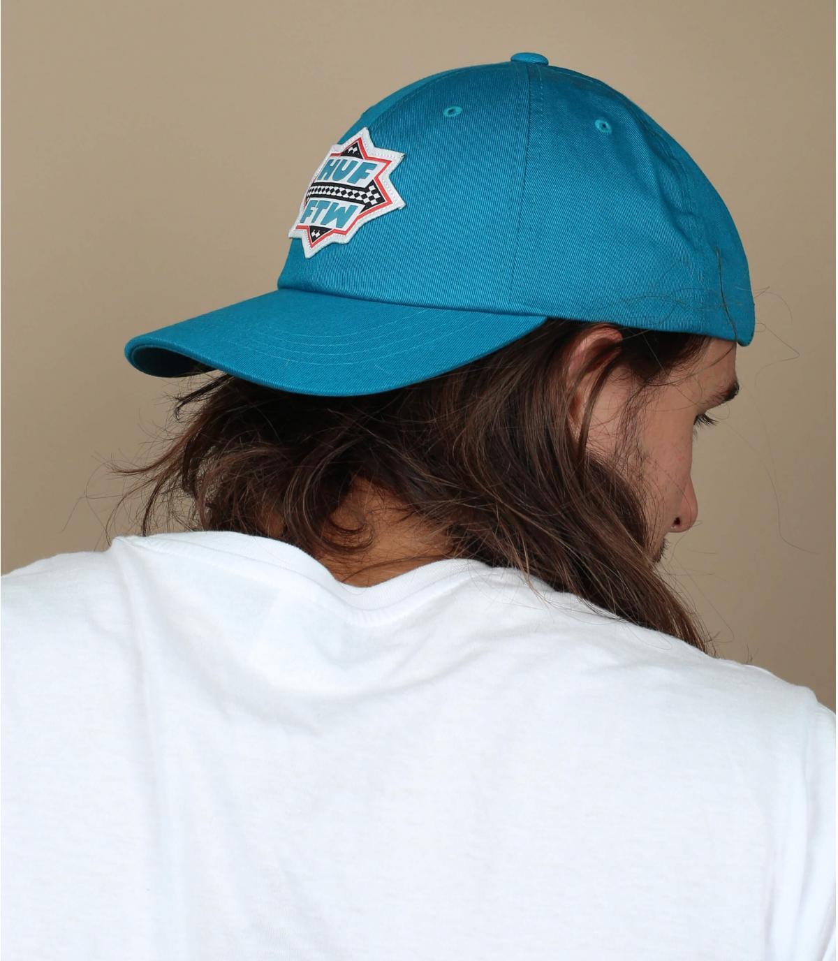 blauwe Huf cap