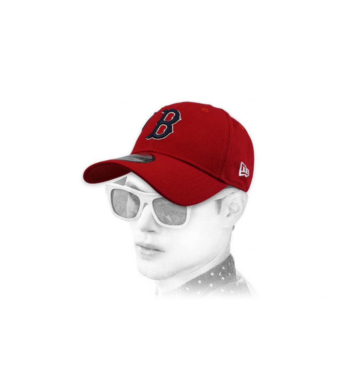 cap B rood