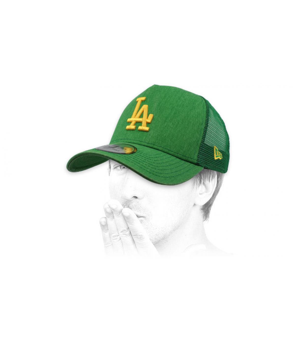 trucker LA groen geel