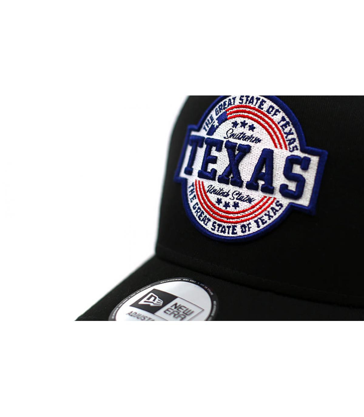 Details Trucker USA Patch Texas black - afbeeling 3
