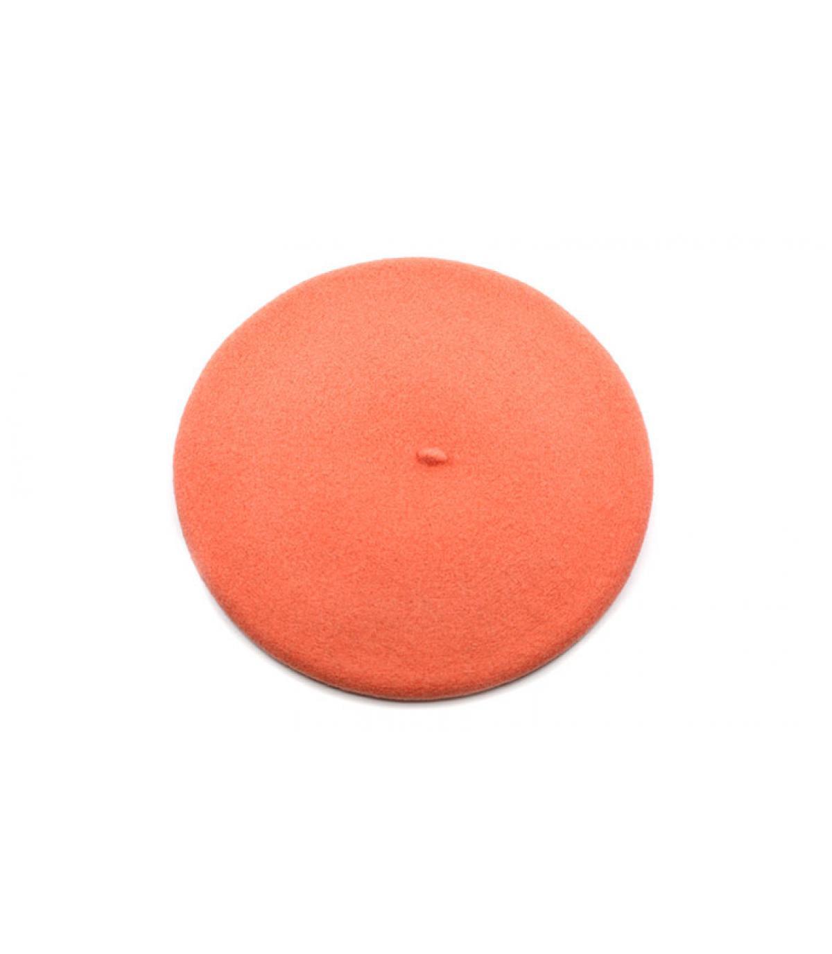 roze wol baret