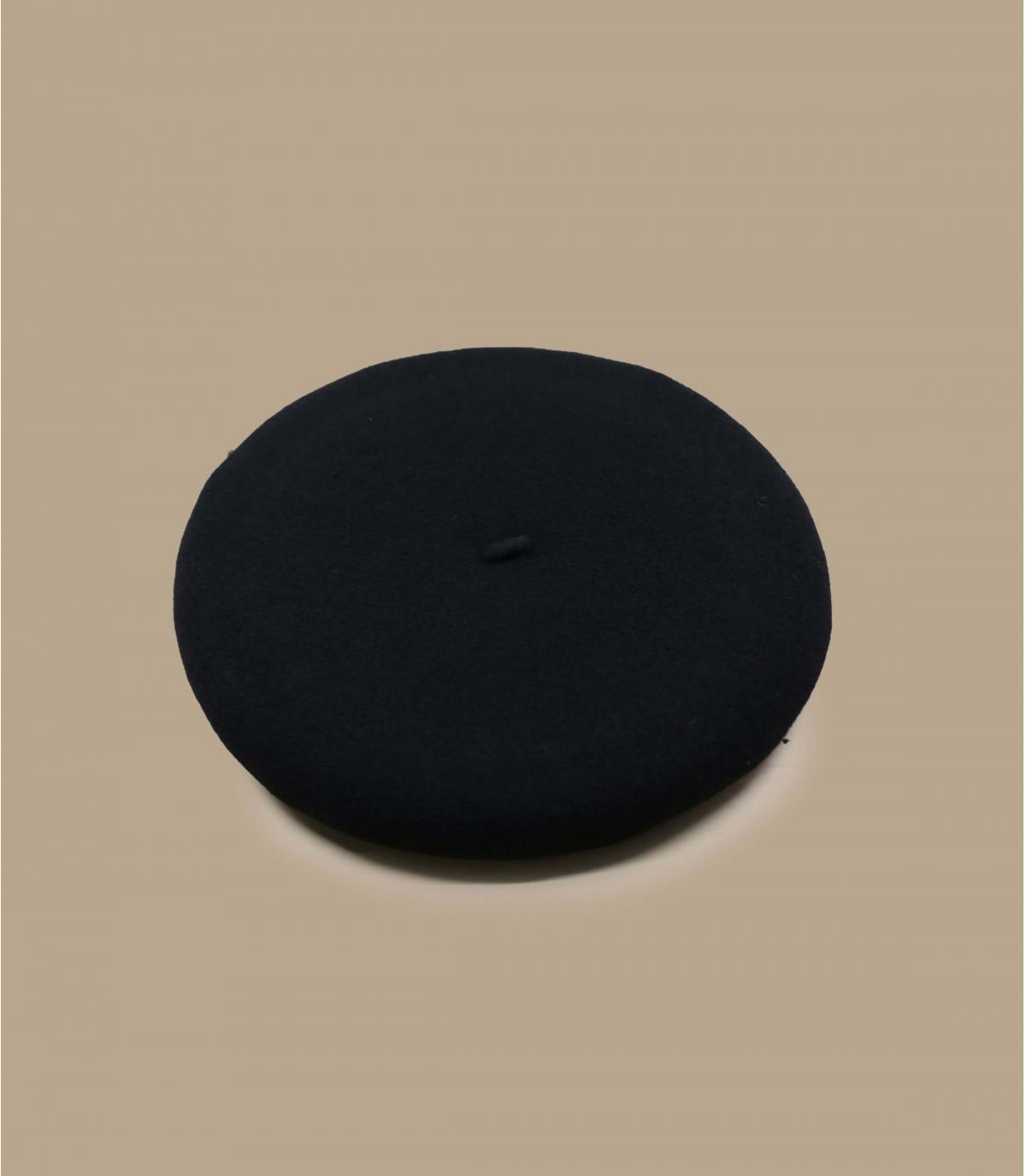 zwarte wol baret