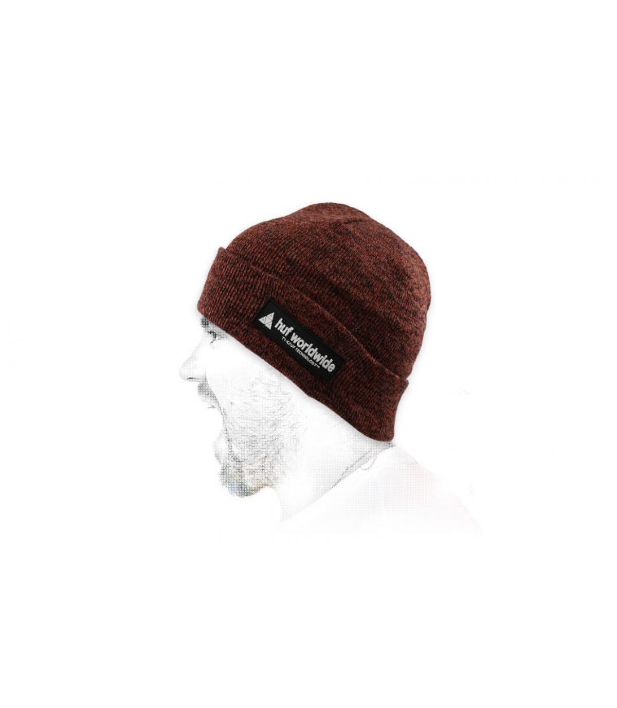 bordeaux bordeaux hoed Huf