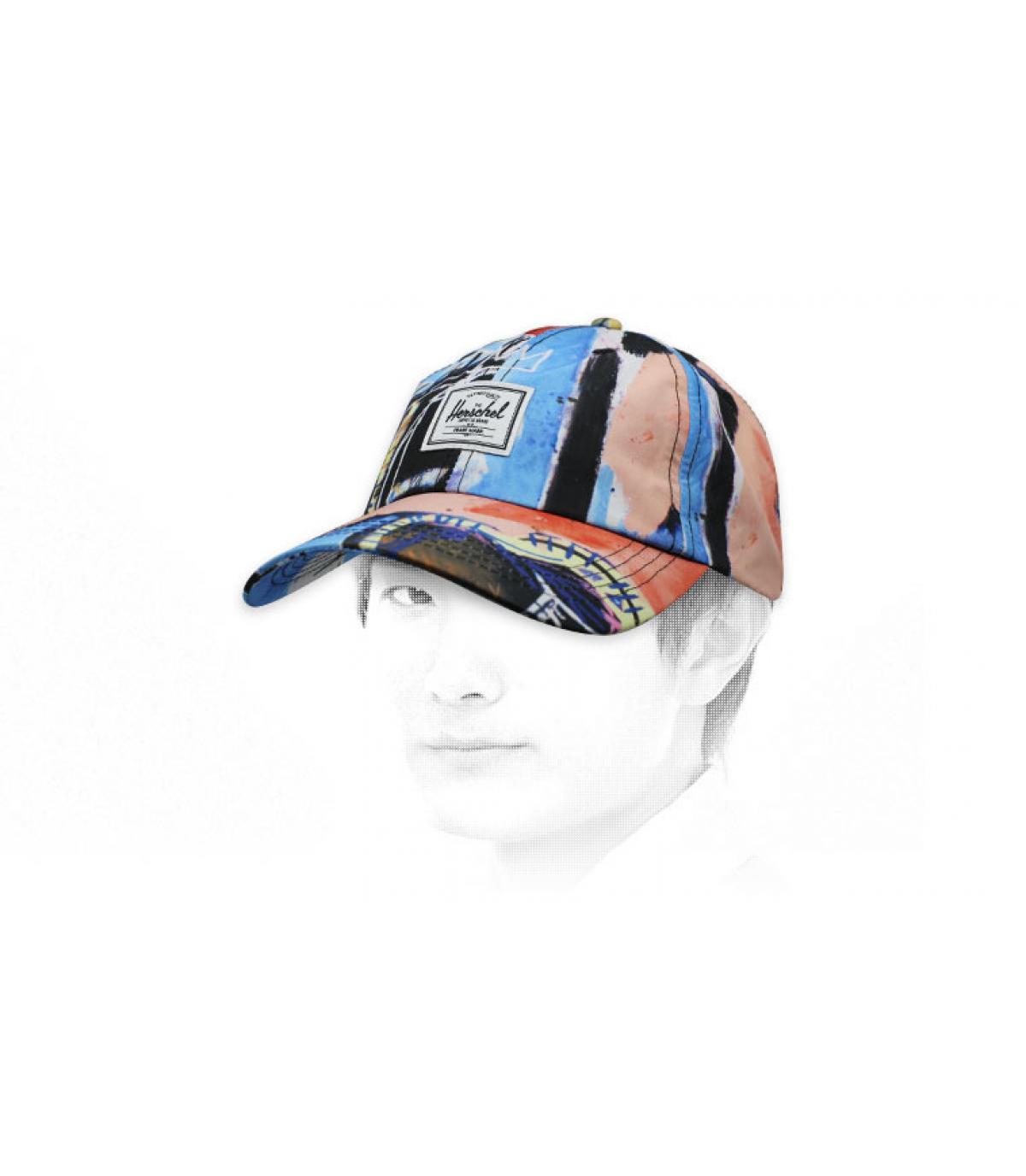 Basquiat Herschel cap