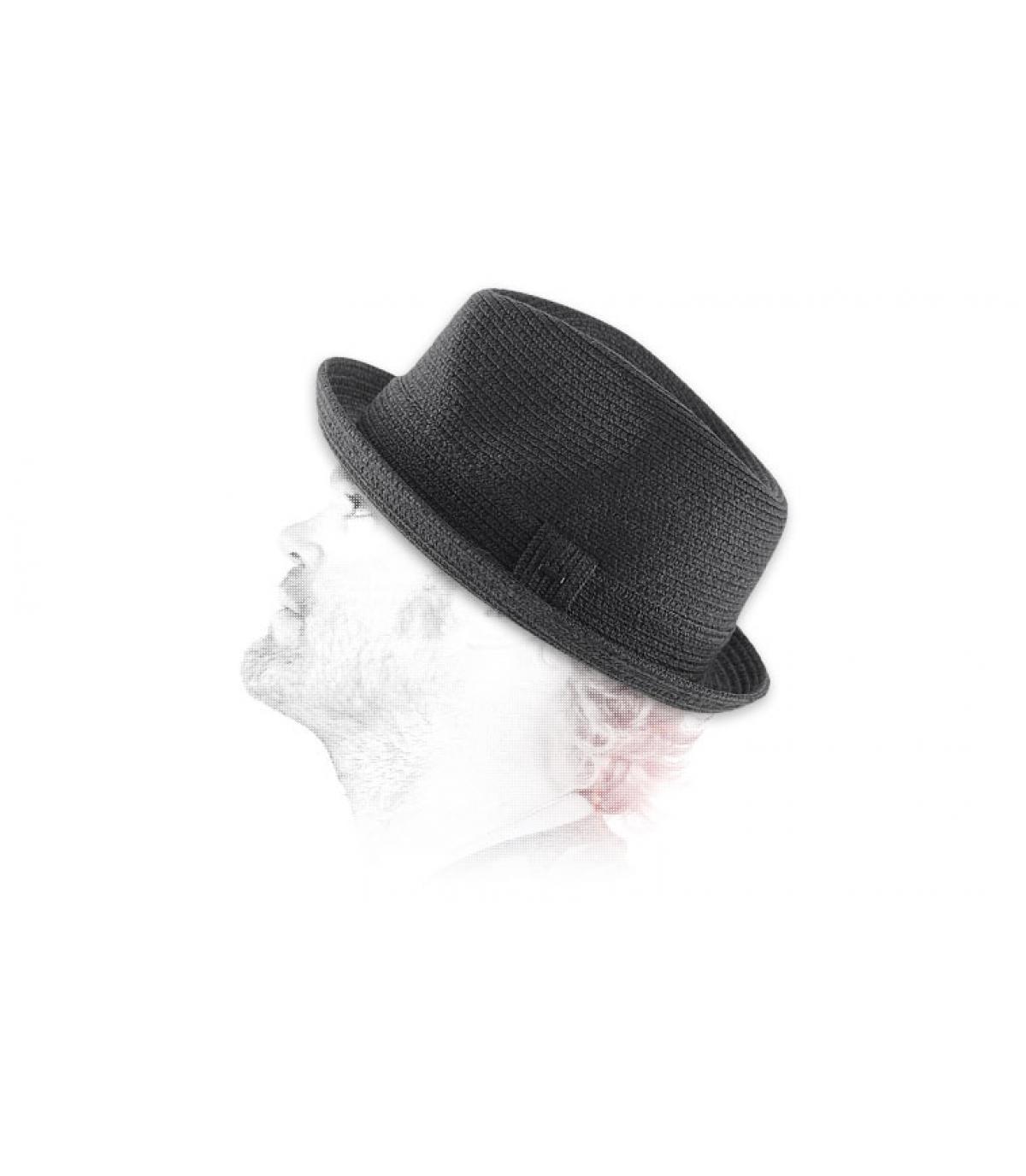 Details Billy zwarte hoed - afbeeling 3