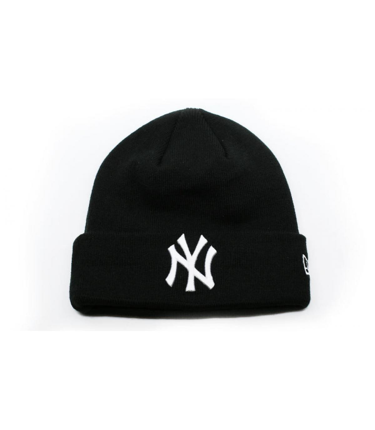 Details MLB Essential Cuff NY black white - afbeeling 2