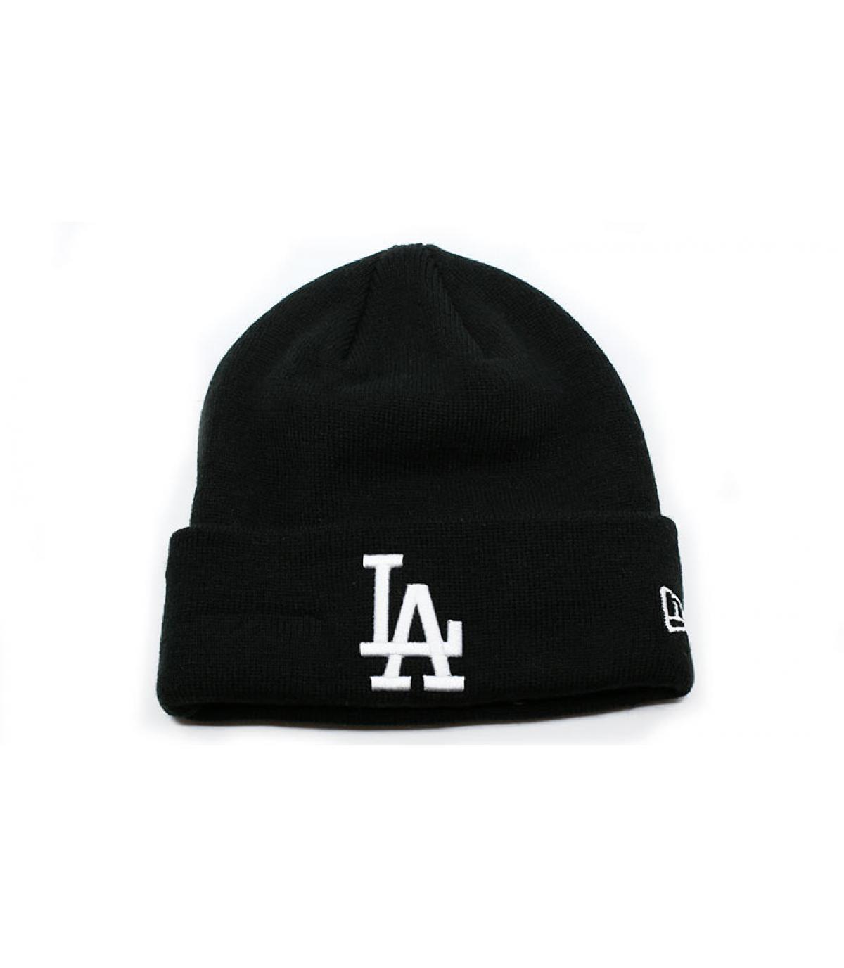 Details MLB Essential Cuff LA black white - afbeeling 2