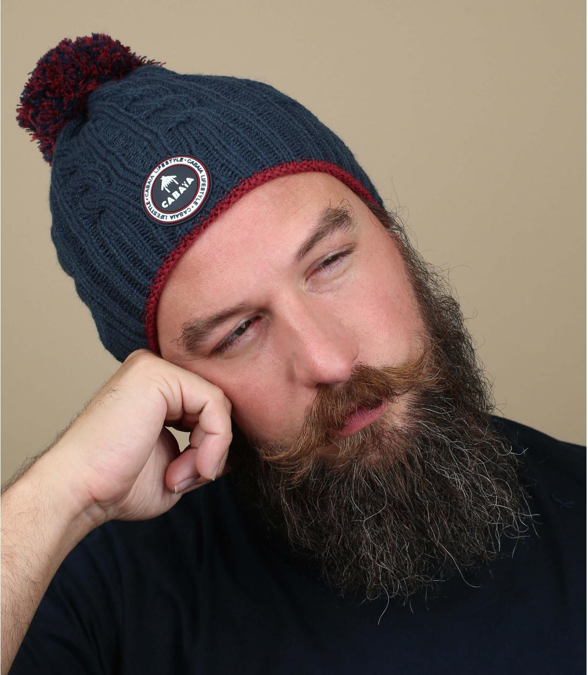 marine pompon hoed