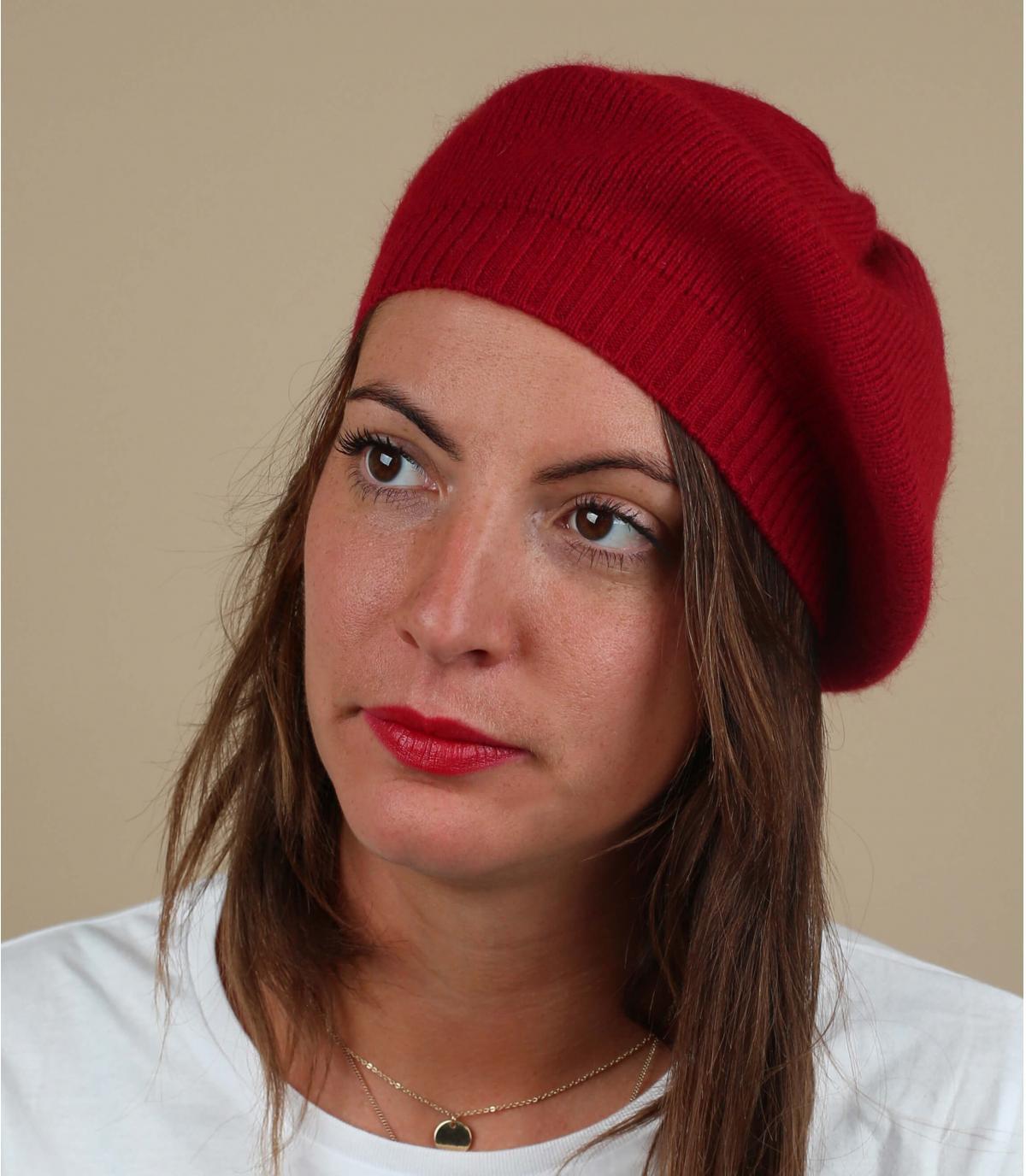 Baskische rode baretwol