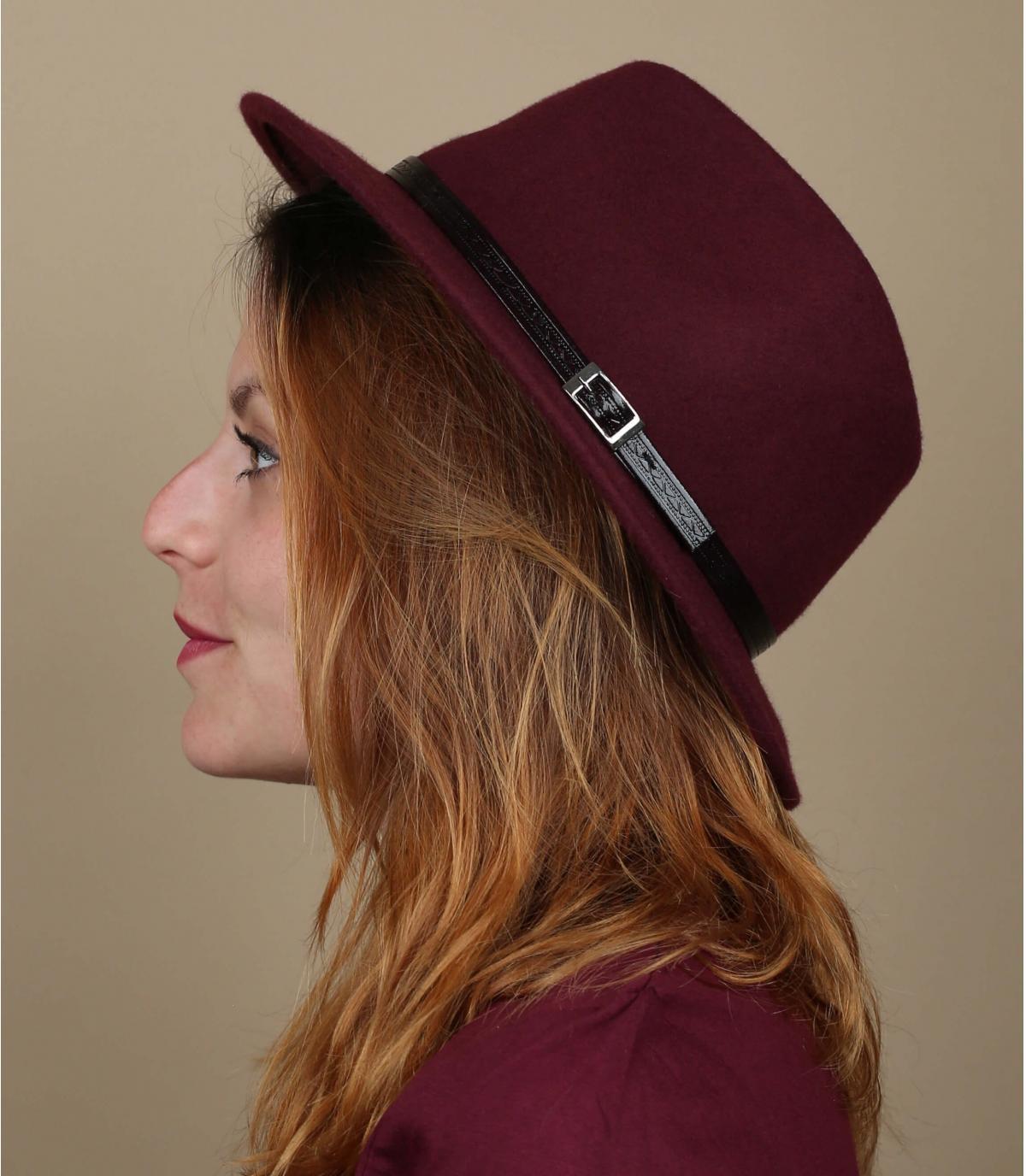 bordeaux hoed vilt