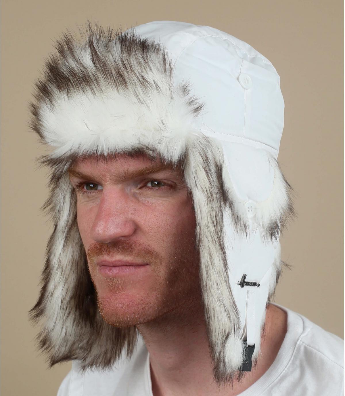 witte vacht hoed