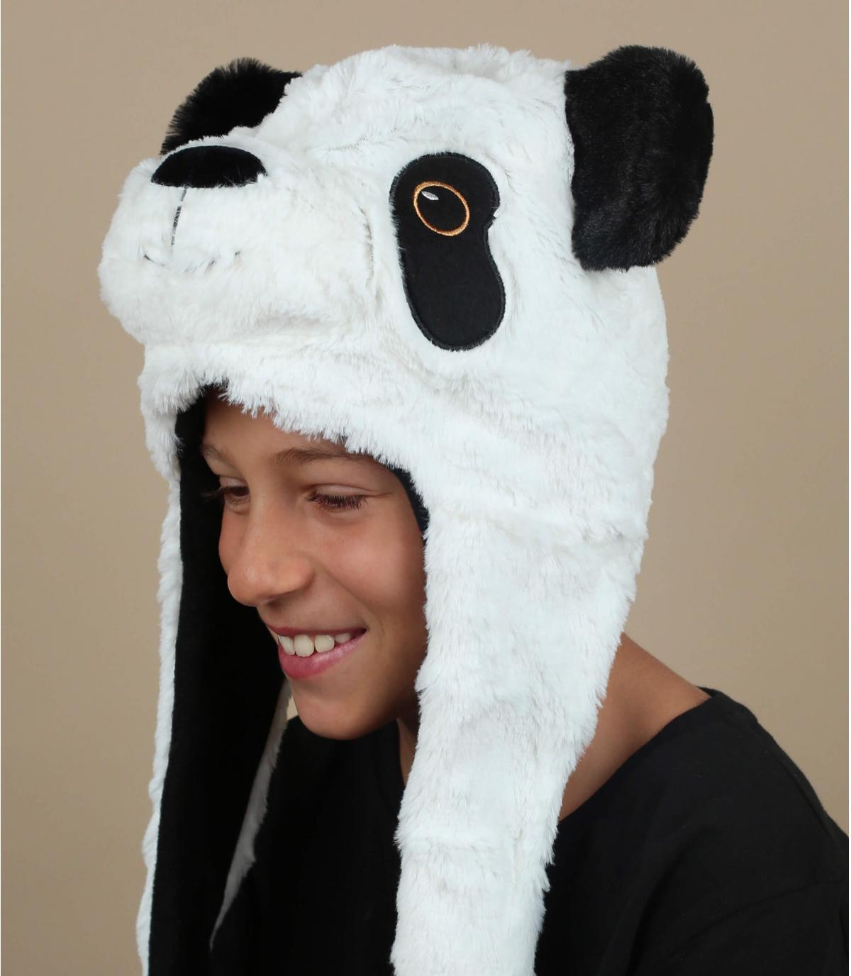 kinder panda hoed