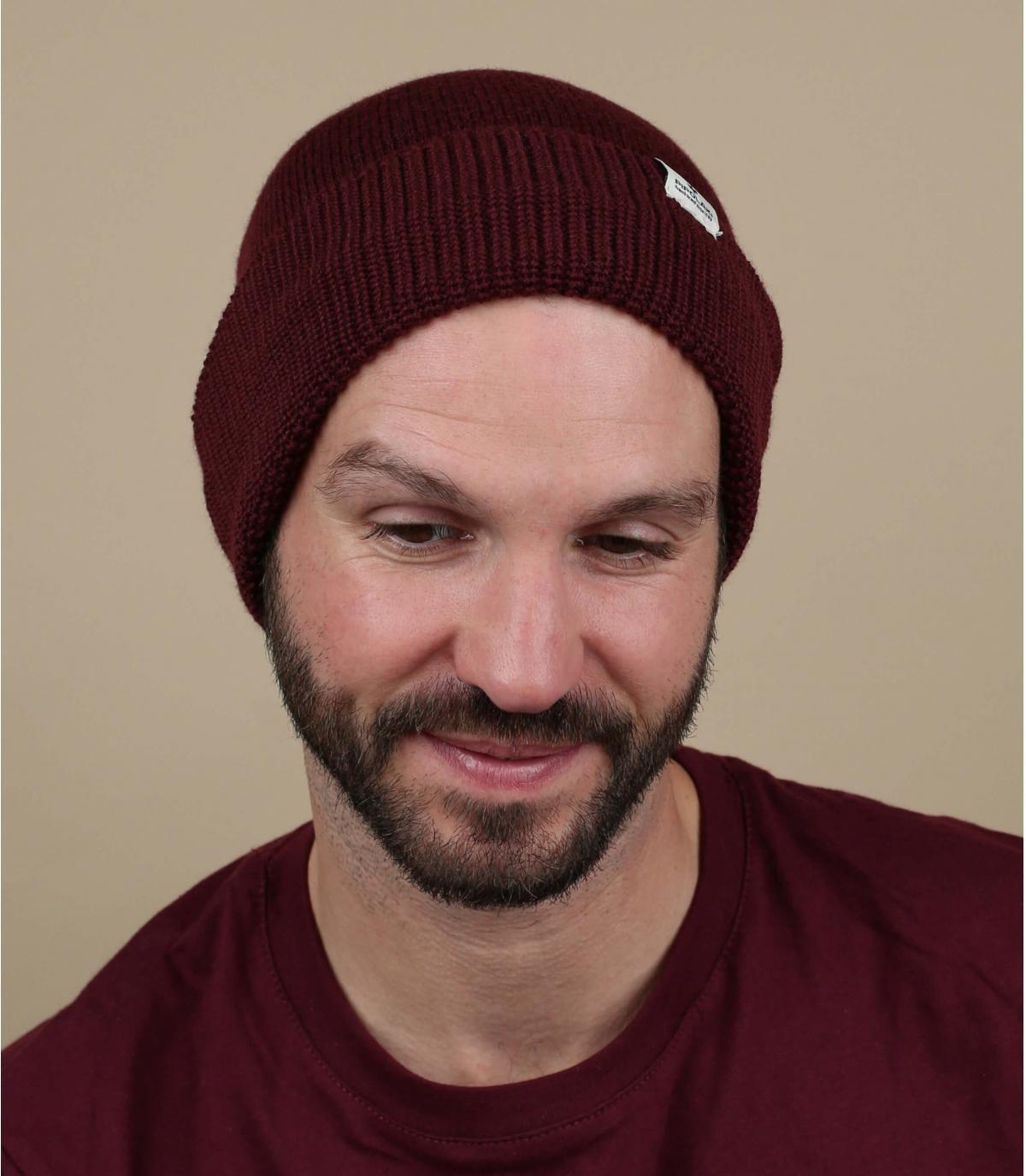 bordeaux bordeauxrode hoed