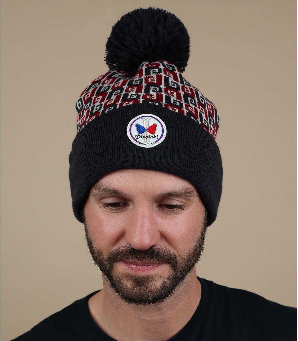 blauwe Pipolaki-hoed