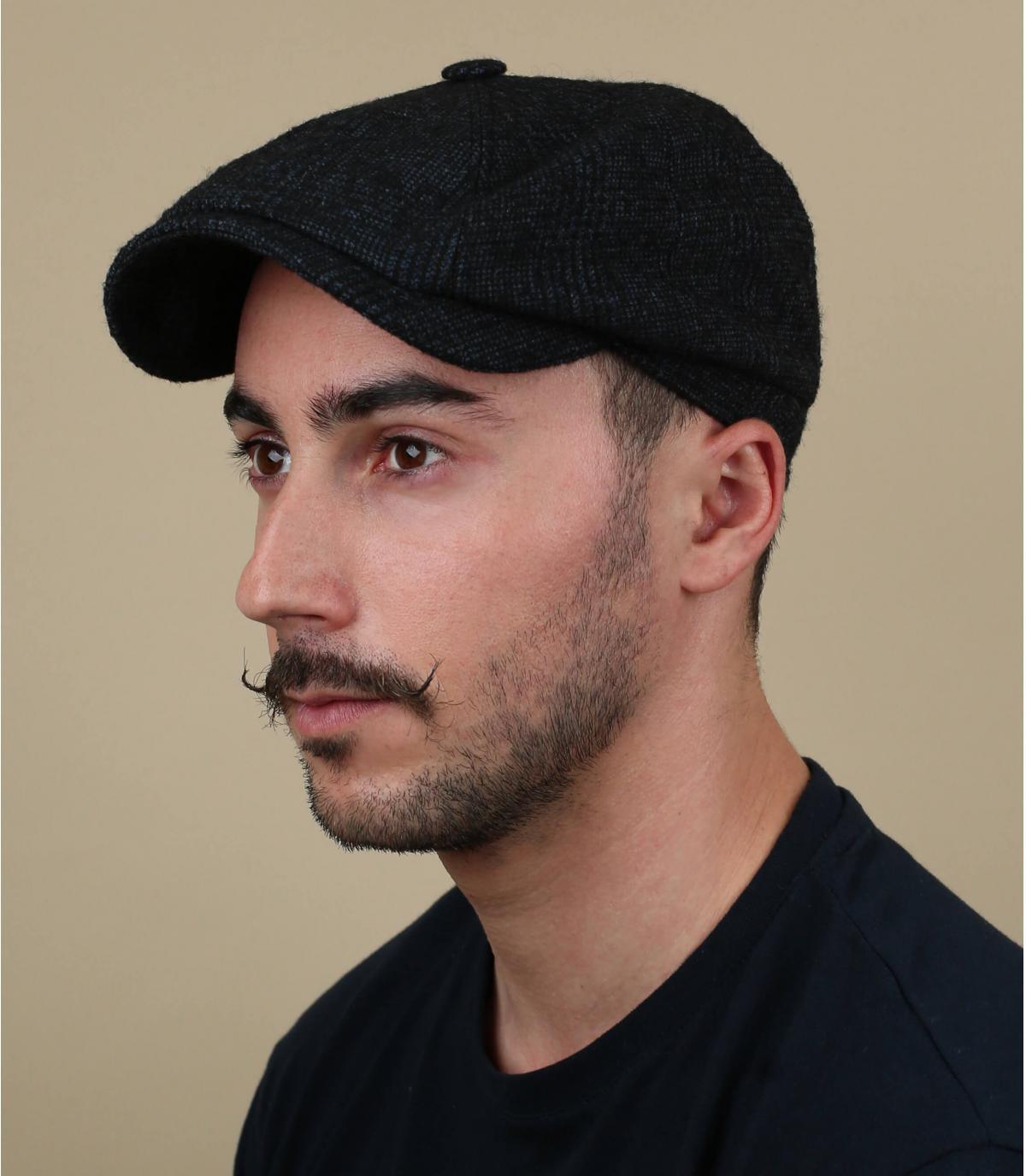 grijze baret baret