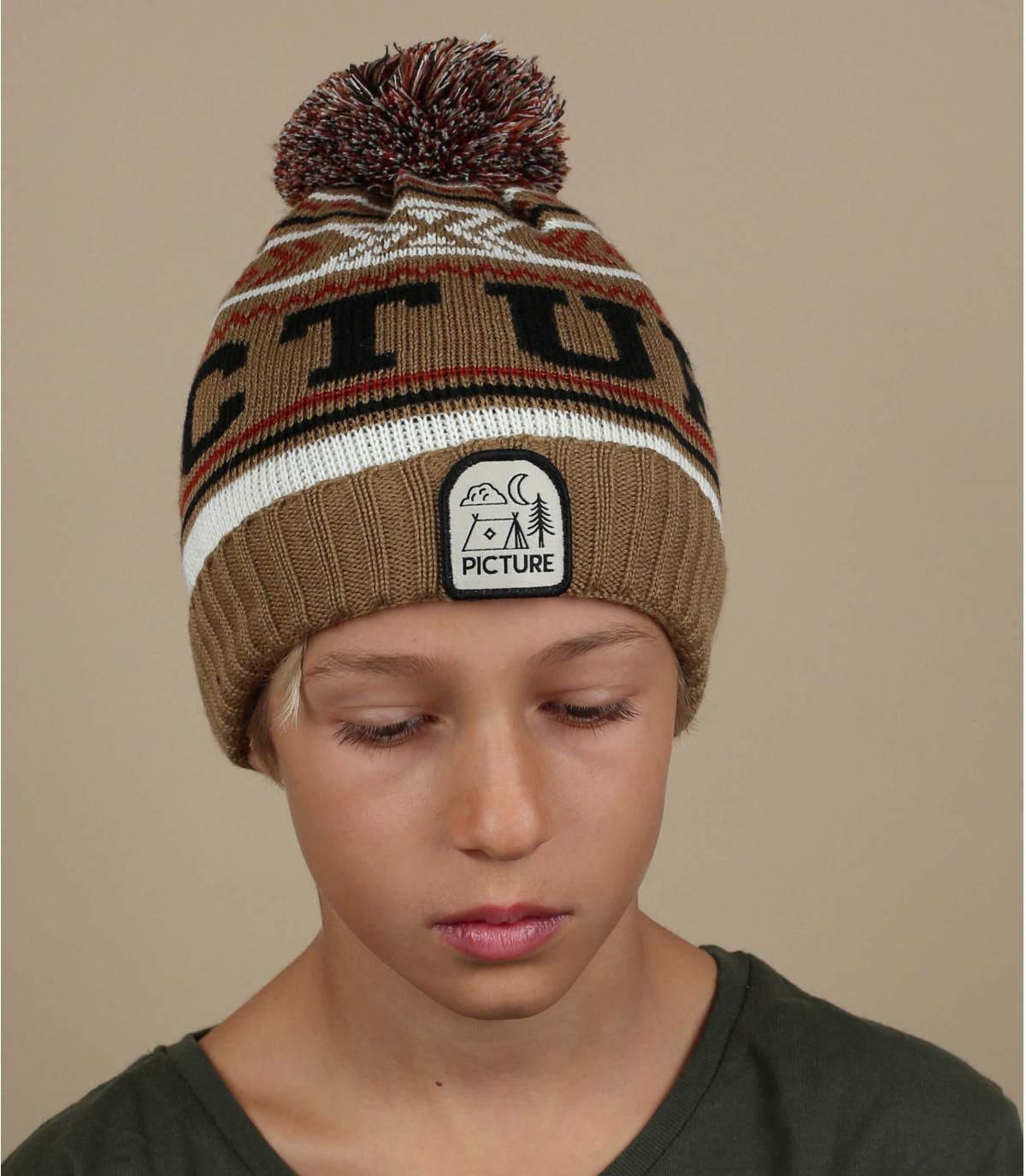 beige kind cap Afbeelding