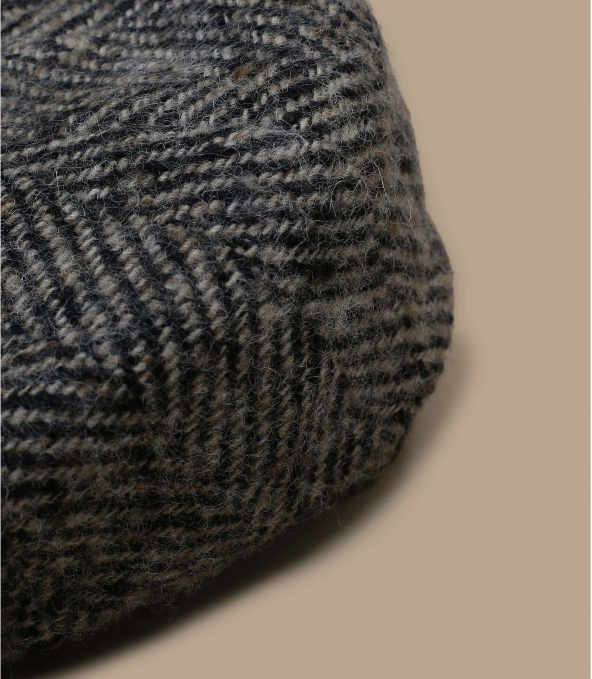 Details Hatteras Herringbone  beige black - afbeeling 2