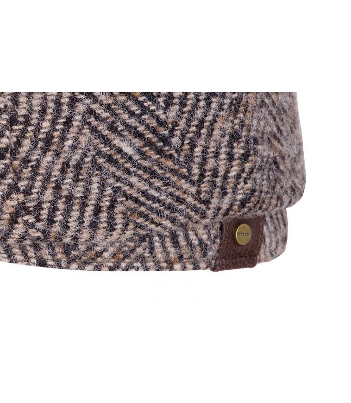 Details Hatteras Herringbone  beige black - afbeeling 3