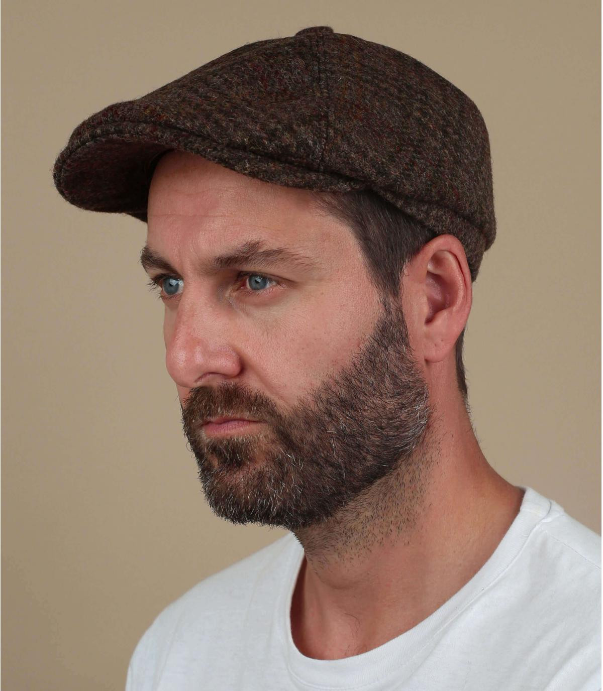 krantenjongen Harris Tweed wollen hoed