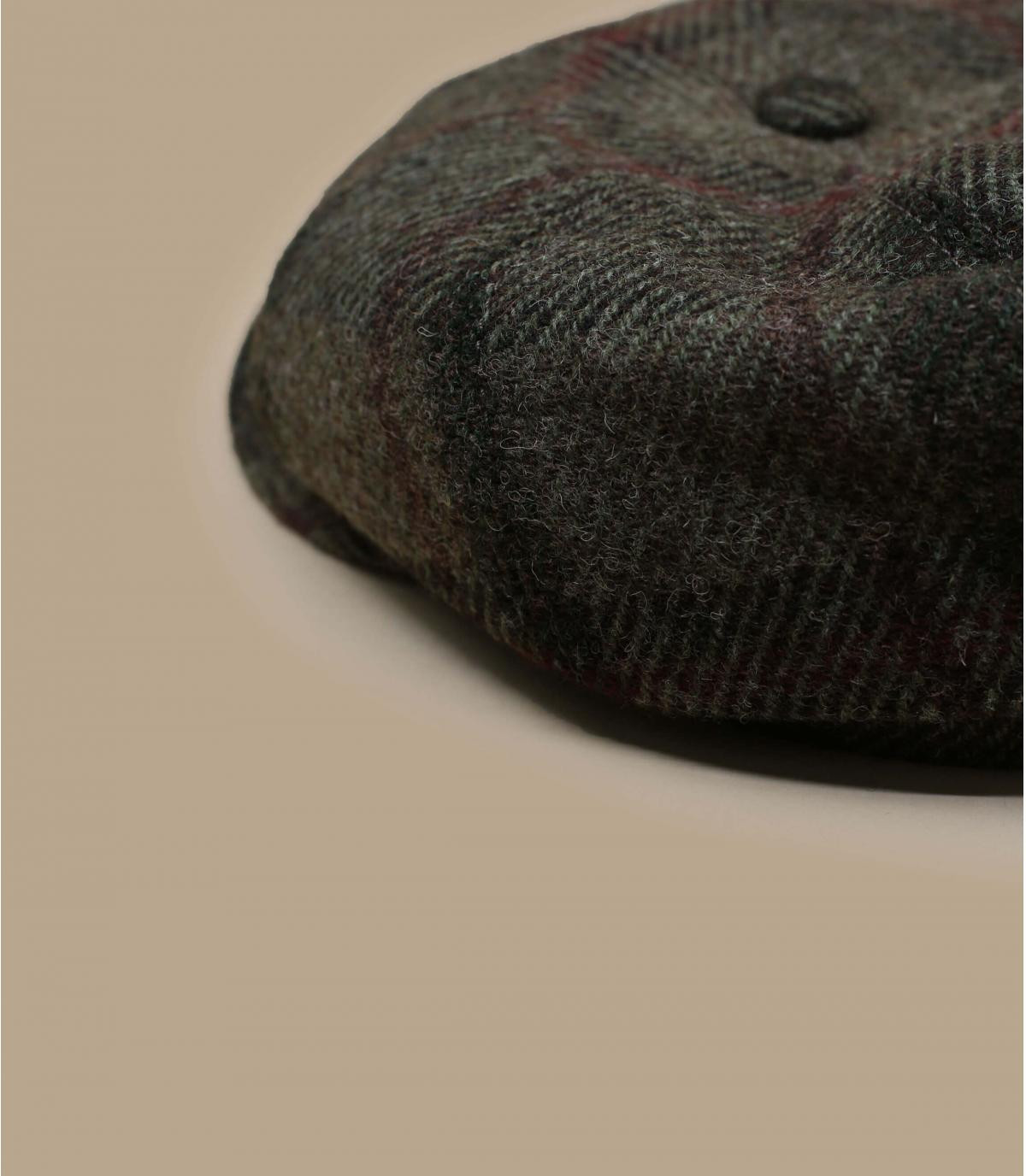 Details Hatteras Virgin Wool check beige olive - afbeeling 2