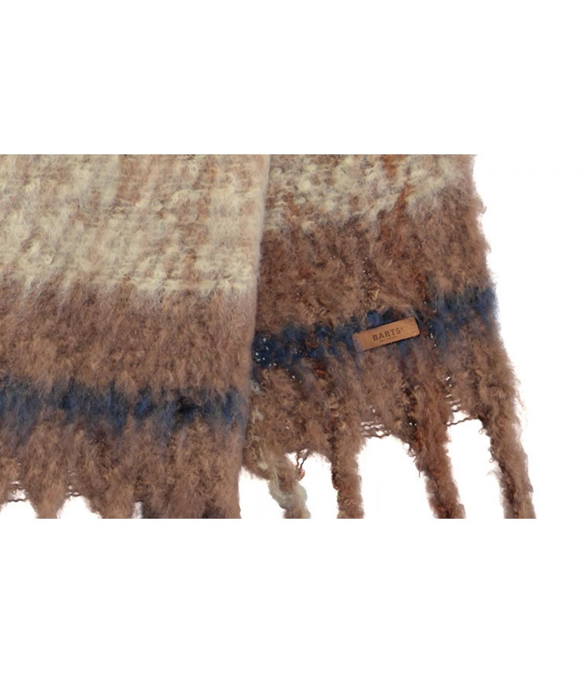 sjaal bruine strepen