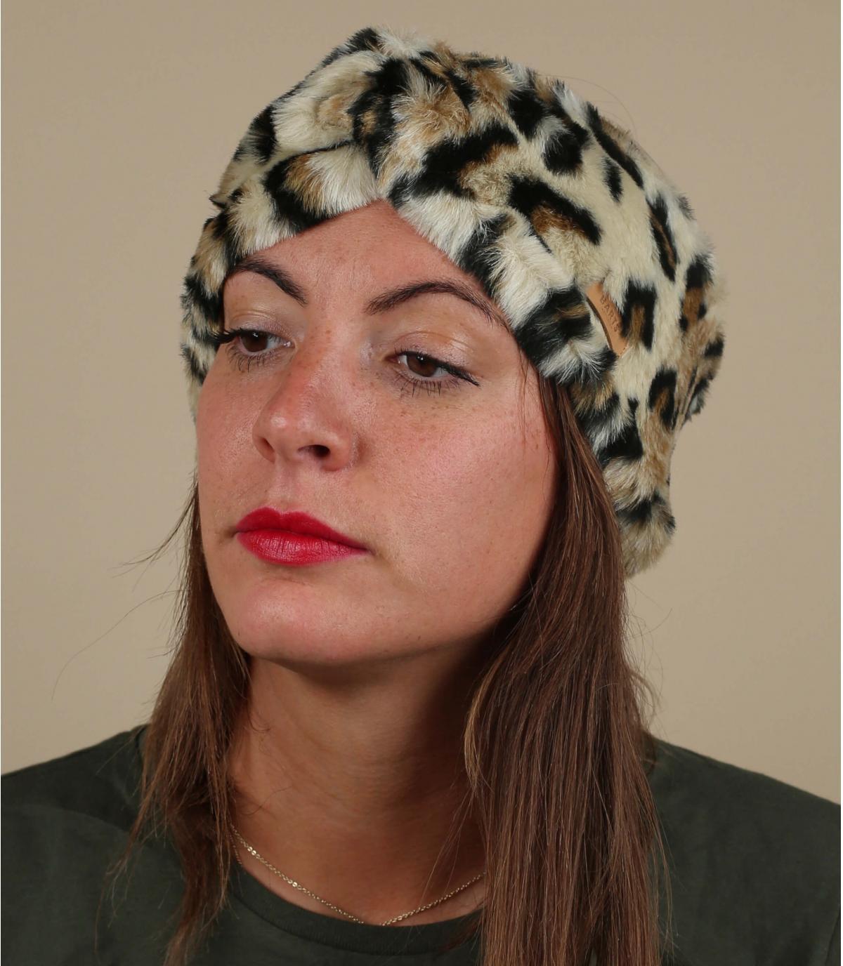 luipaard hoofdband Barts