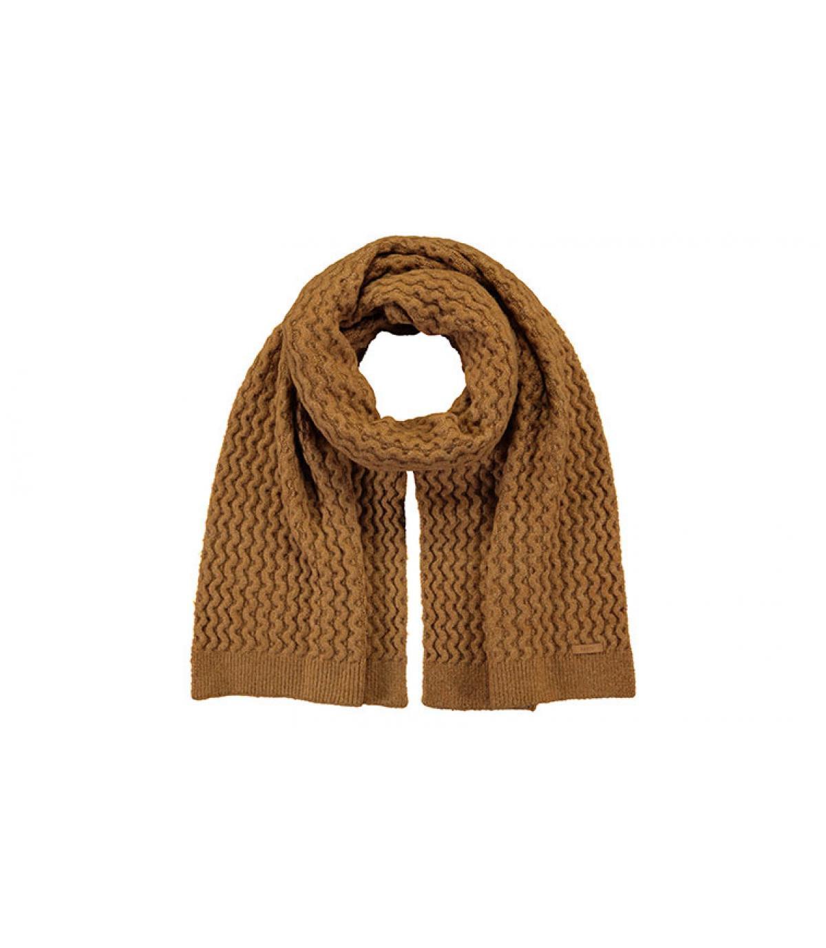 Brei beige sjaal