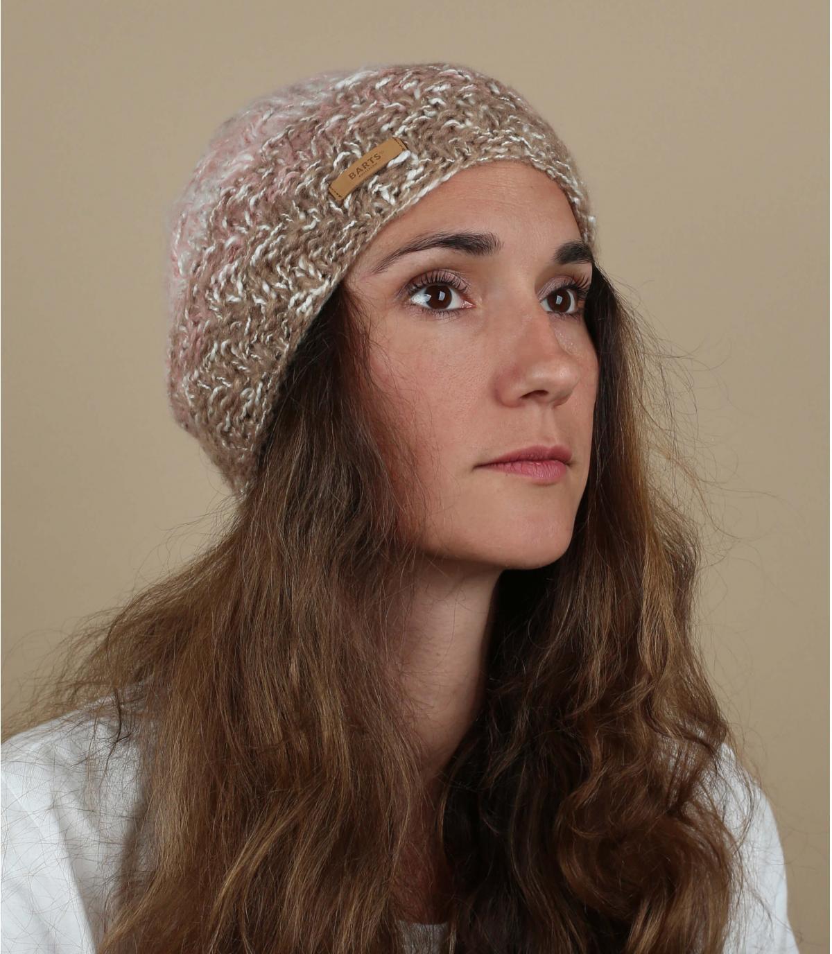 roze verloop hoed
