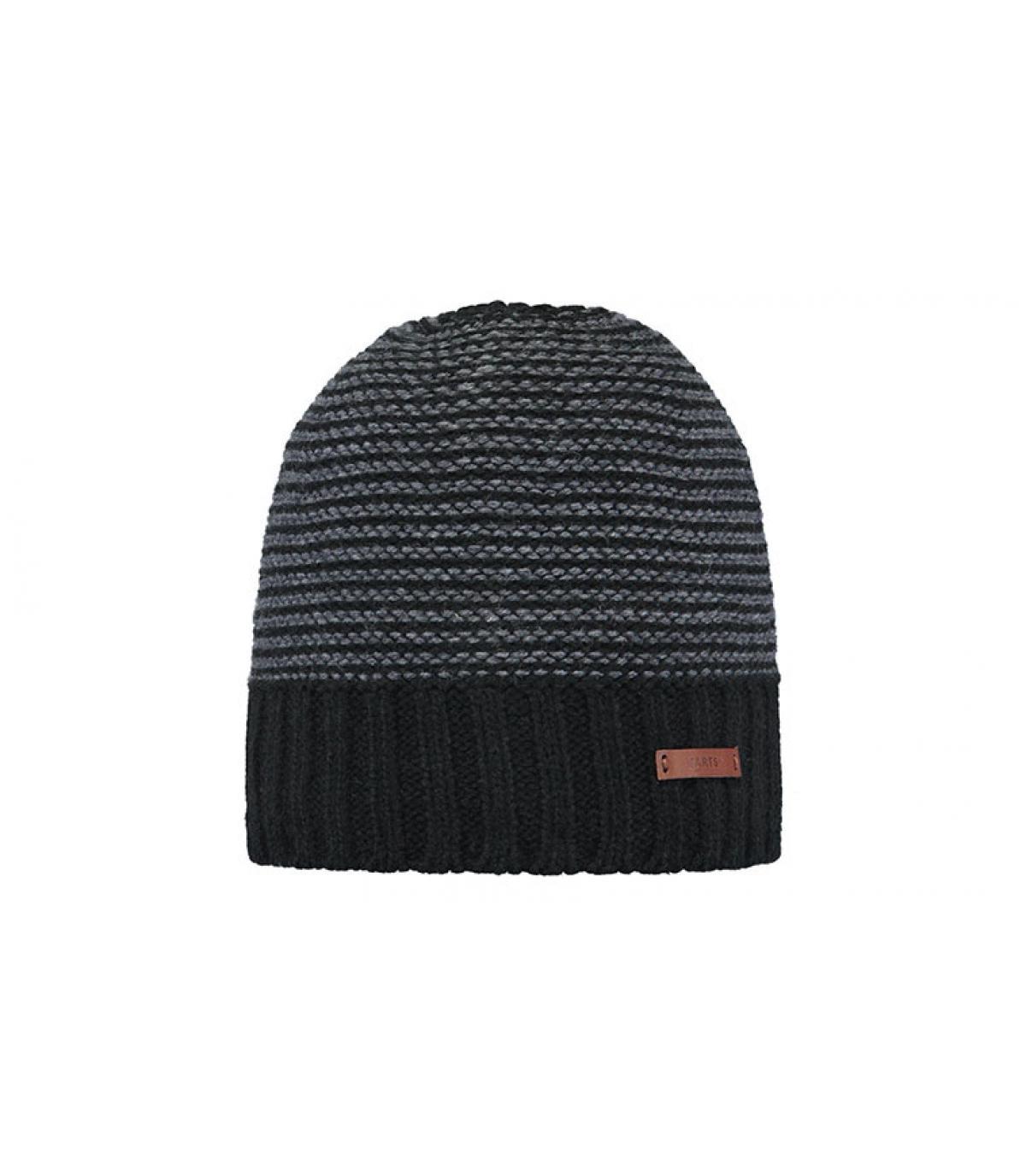 zwarte strepen hoed