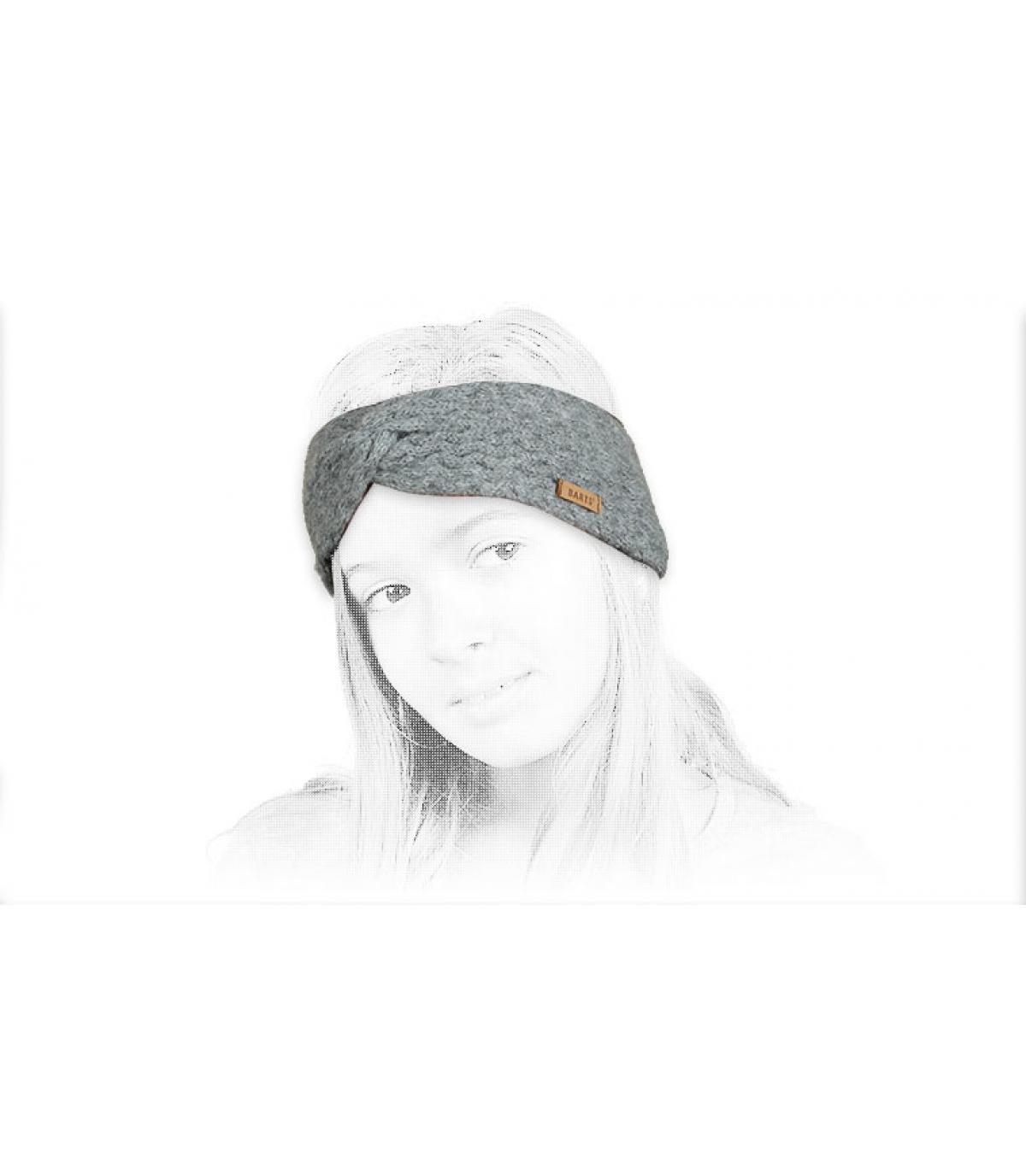 Details Kids Rozamond Headband heather grey - afbeeling 4