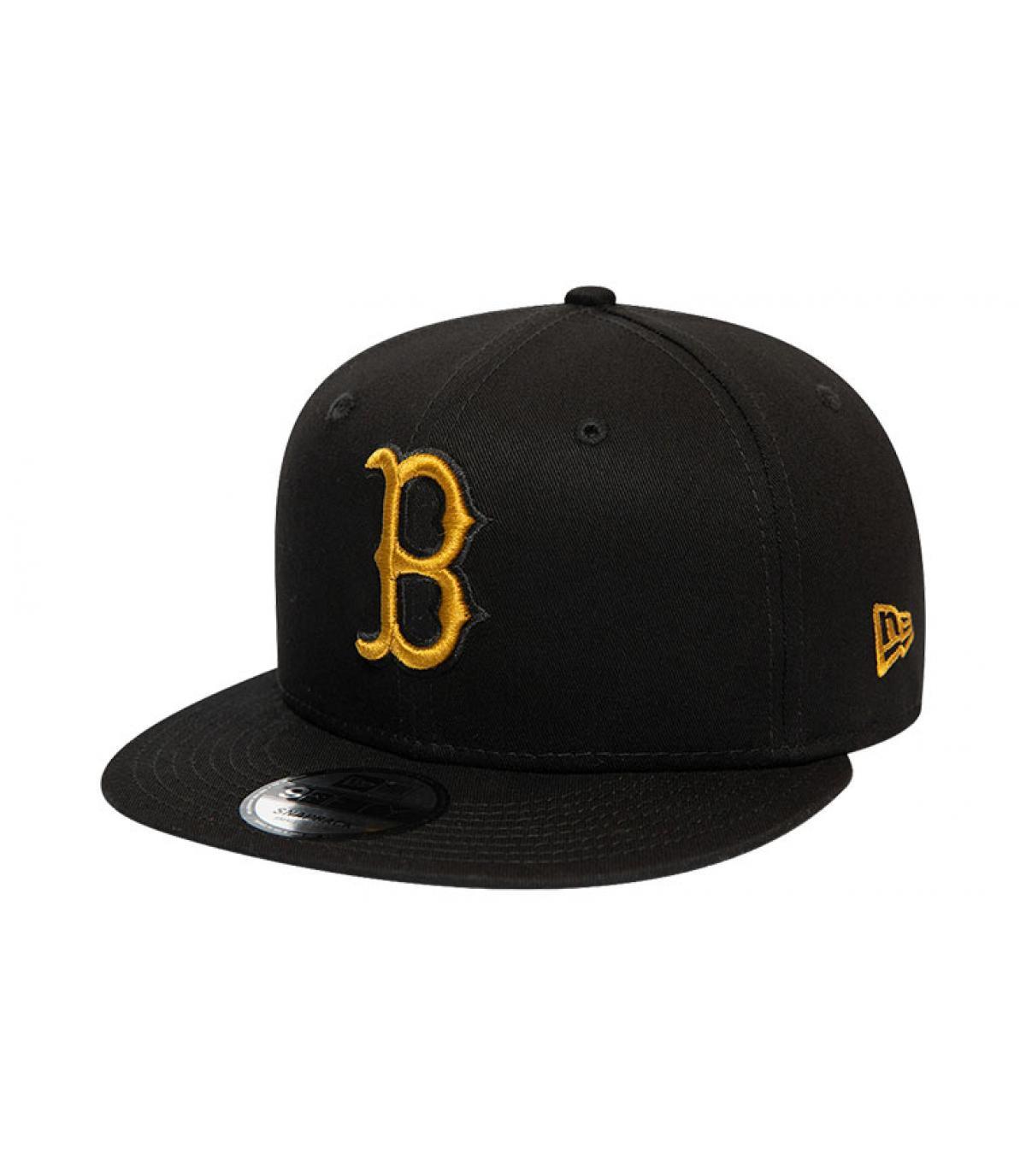 Details Snapback League Ess Boston 950 black gold - afbeeling 2