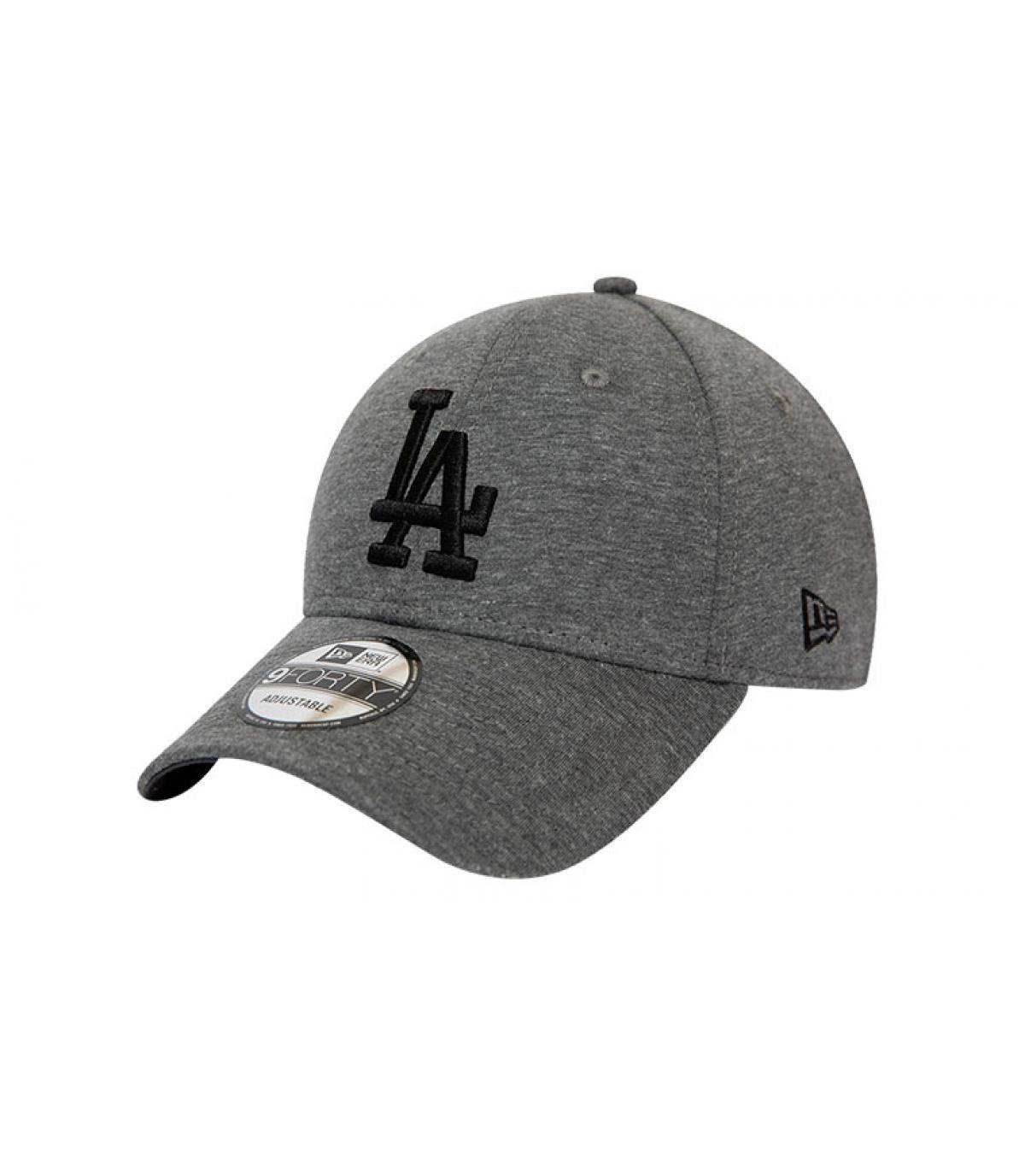 cap LA grijs zwart