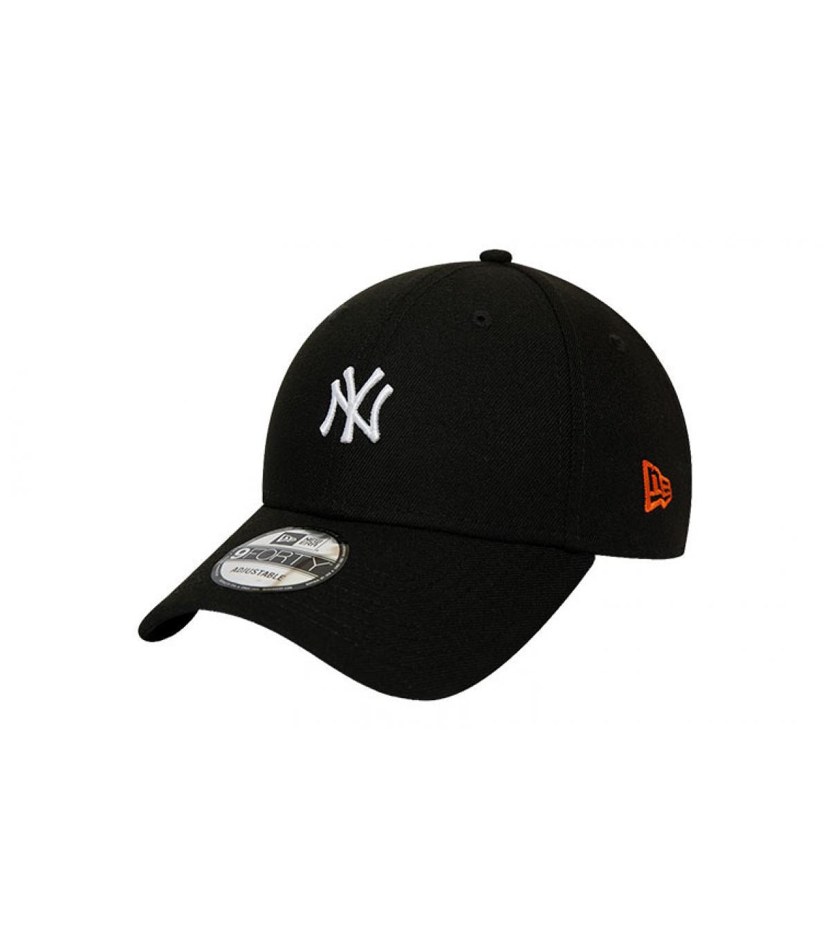 zwarte NY cap Japan