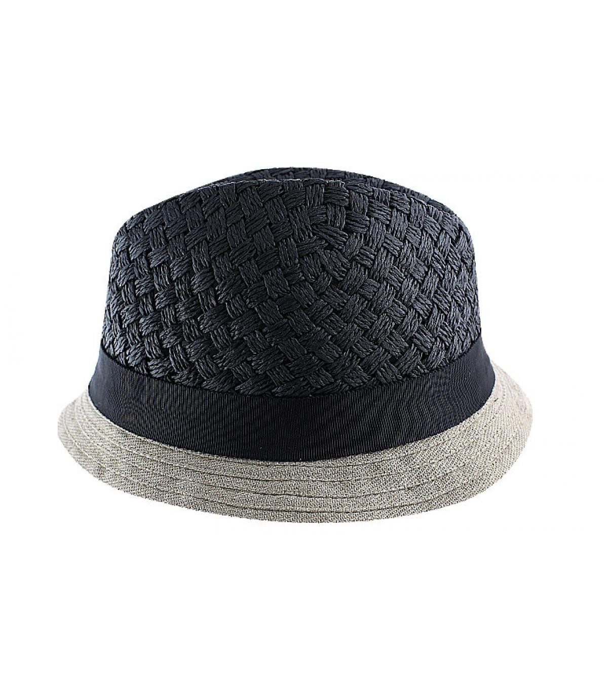 Céline Robert zwarte hoed
