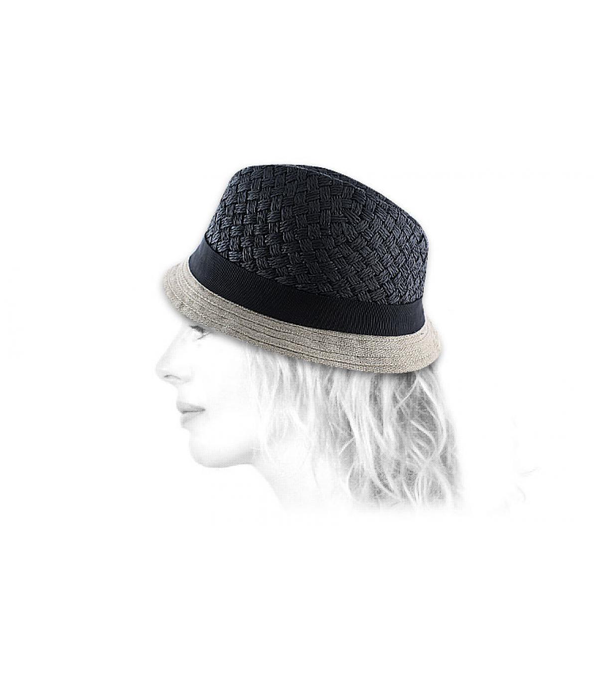 Details Junko hoed - afbeeling 2