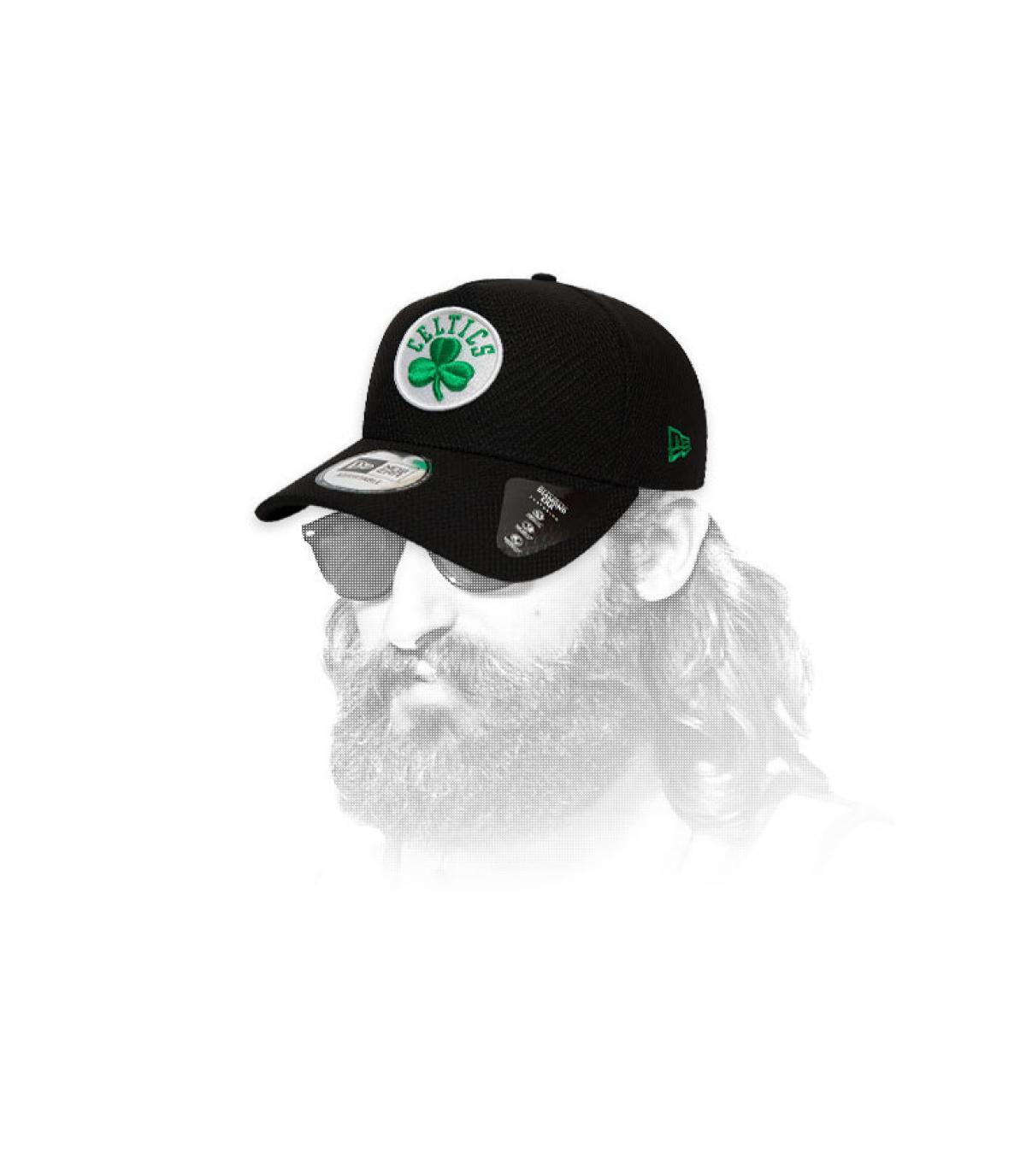 zwart Celtics cap-logo