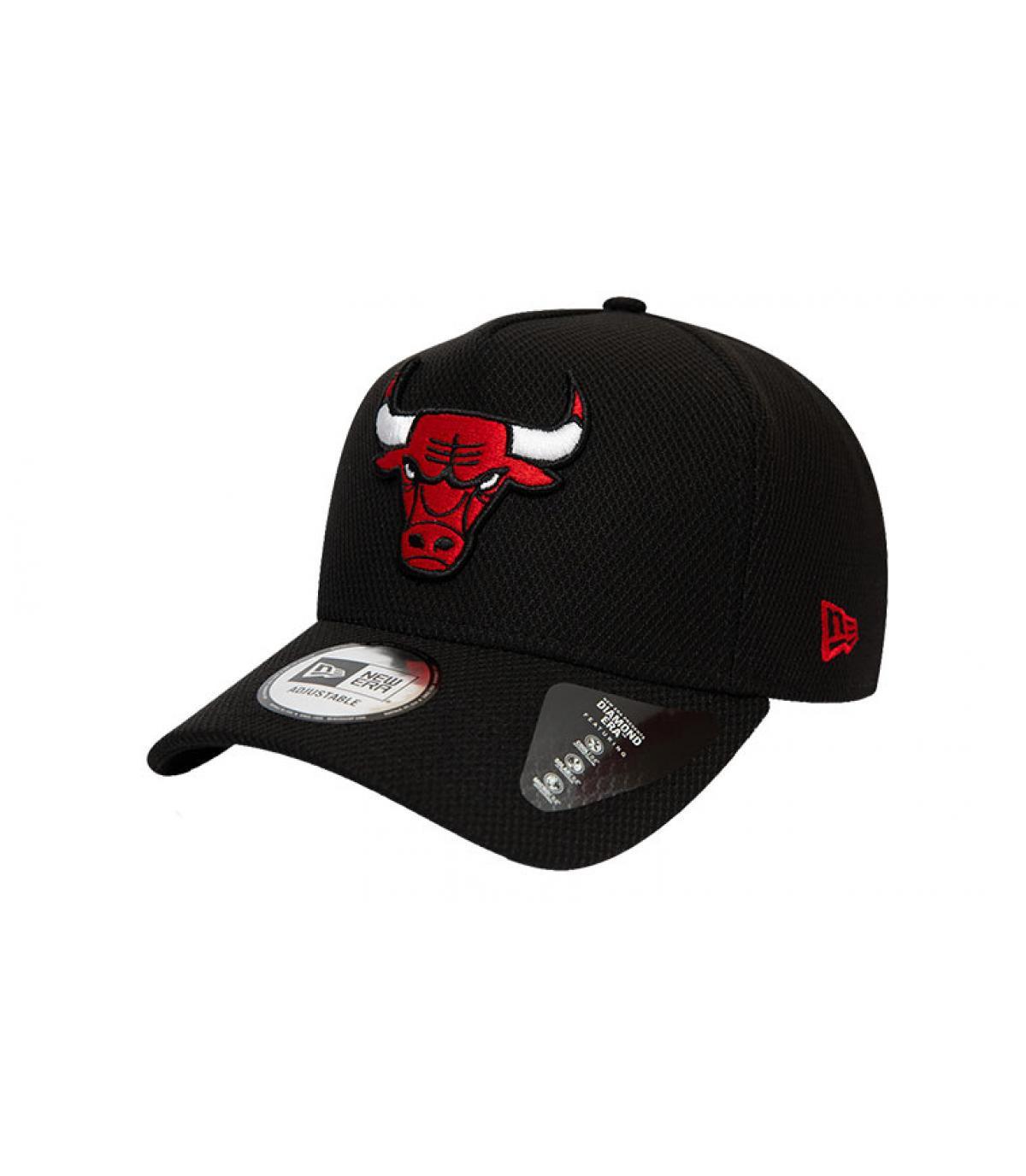 zwart Bulls cap-logo