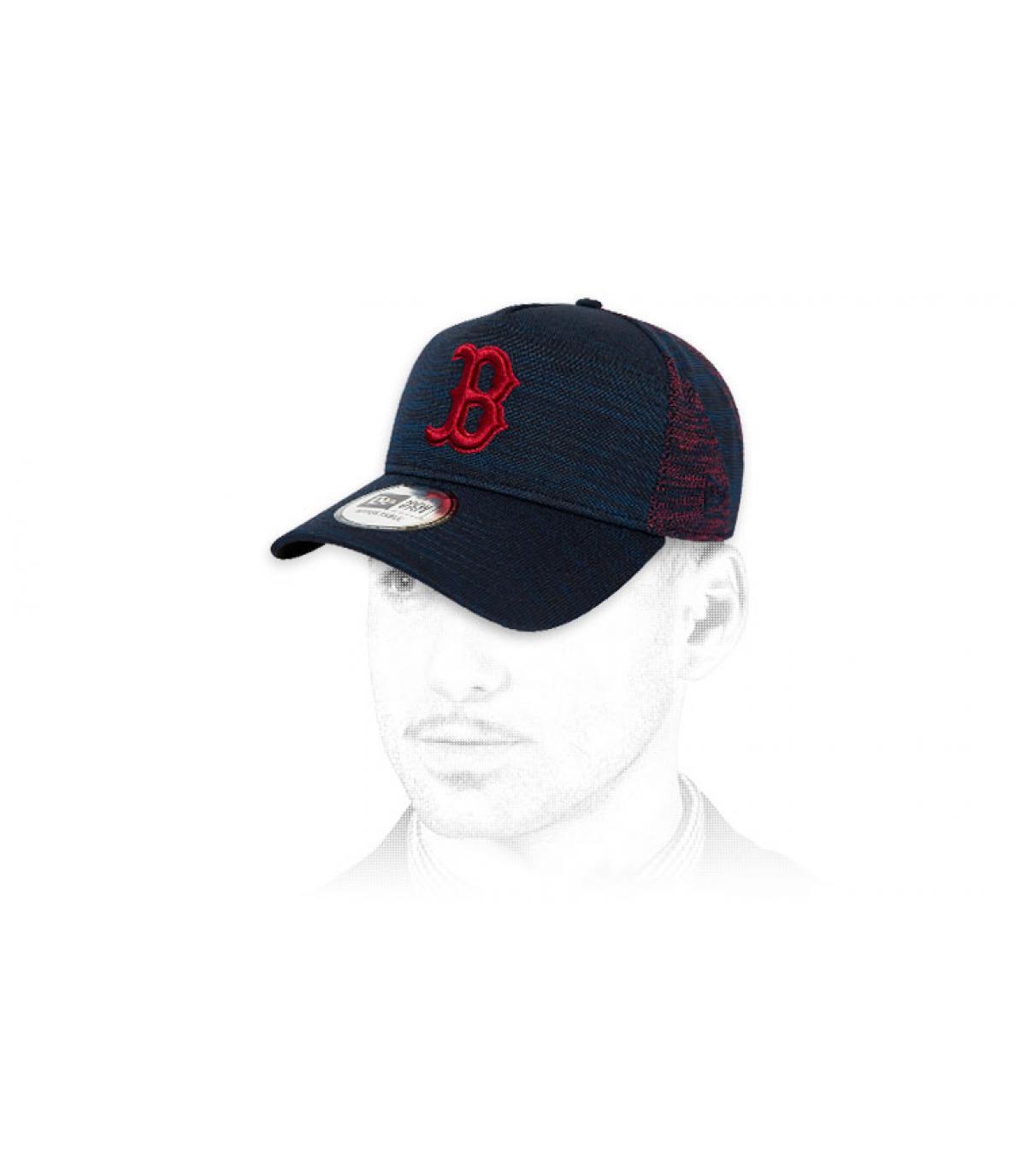 dop B blauw rood