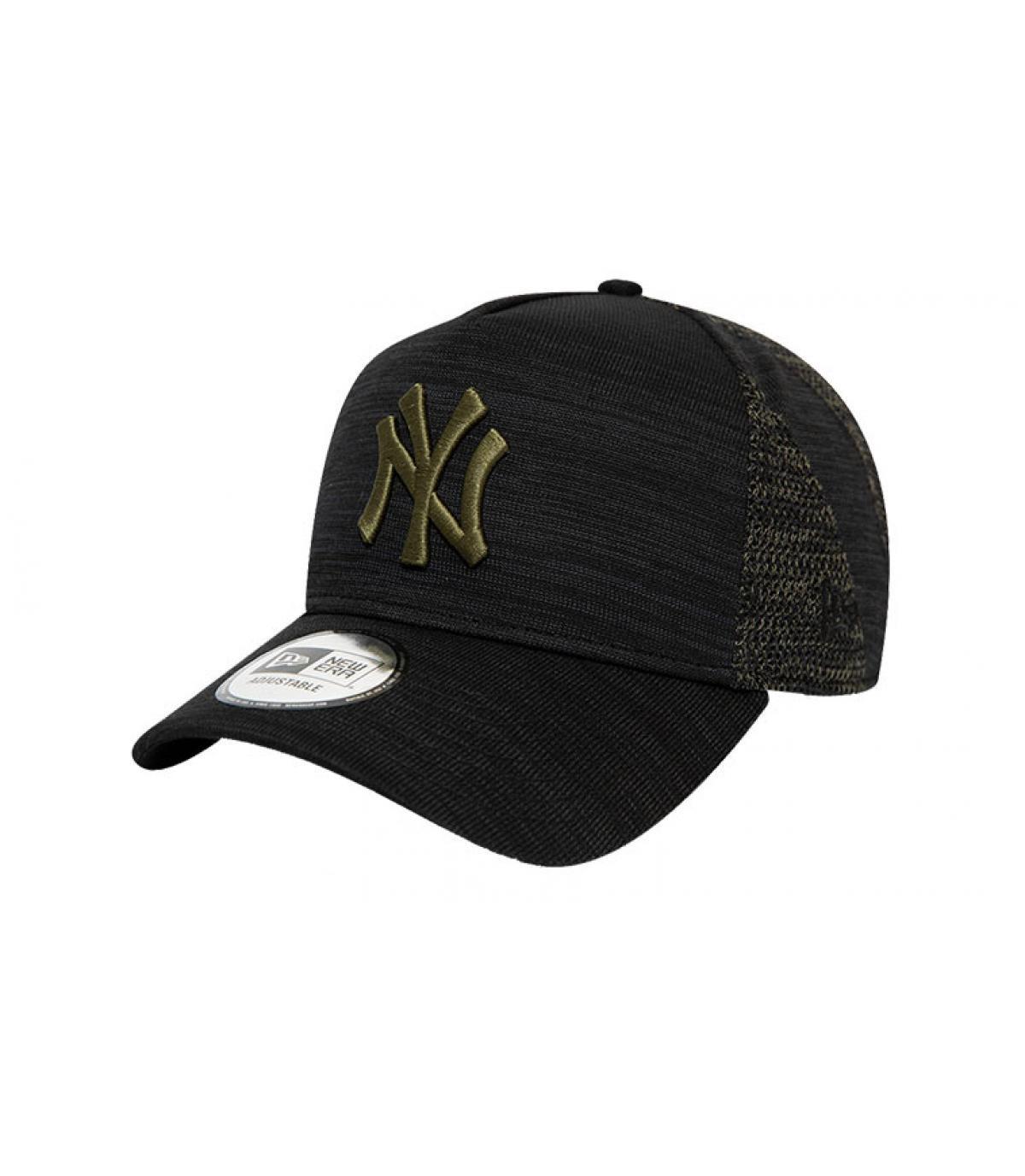 zwarte NY pet groen