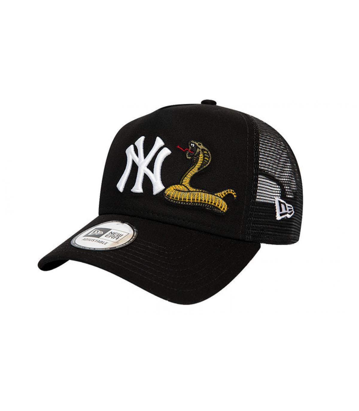 Details Trucker MLB Twine NY black - afbeeling 2