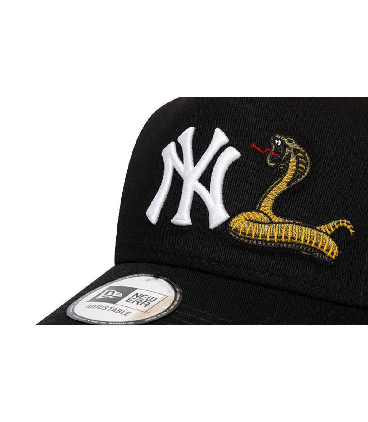 Details Trucker MLB Twine NY black - afbeeling 3