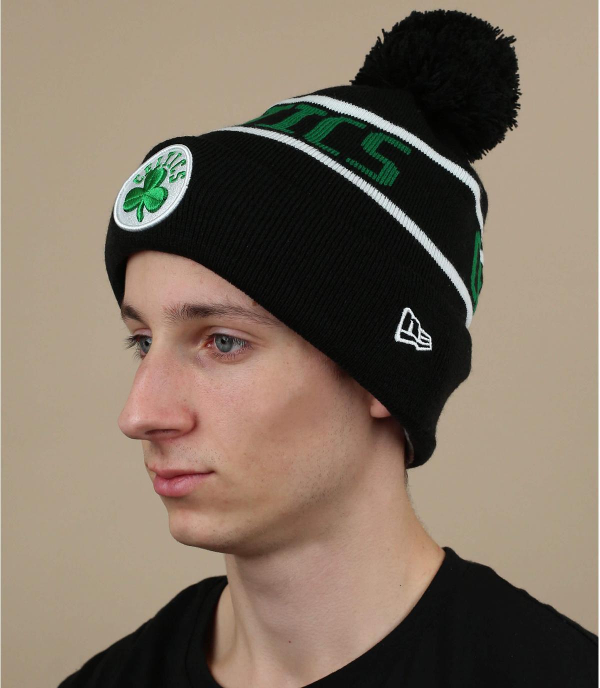 Celtics hoed zwart groen