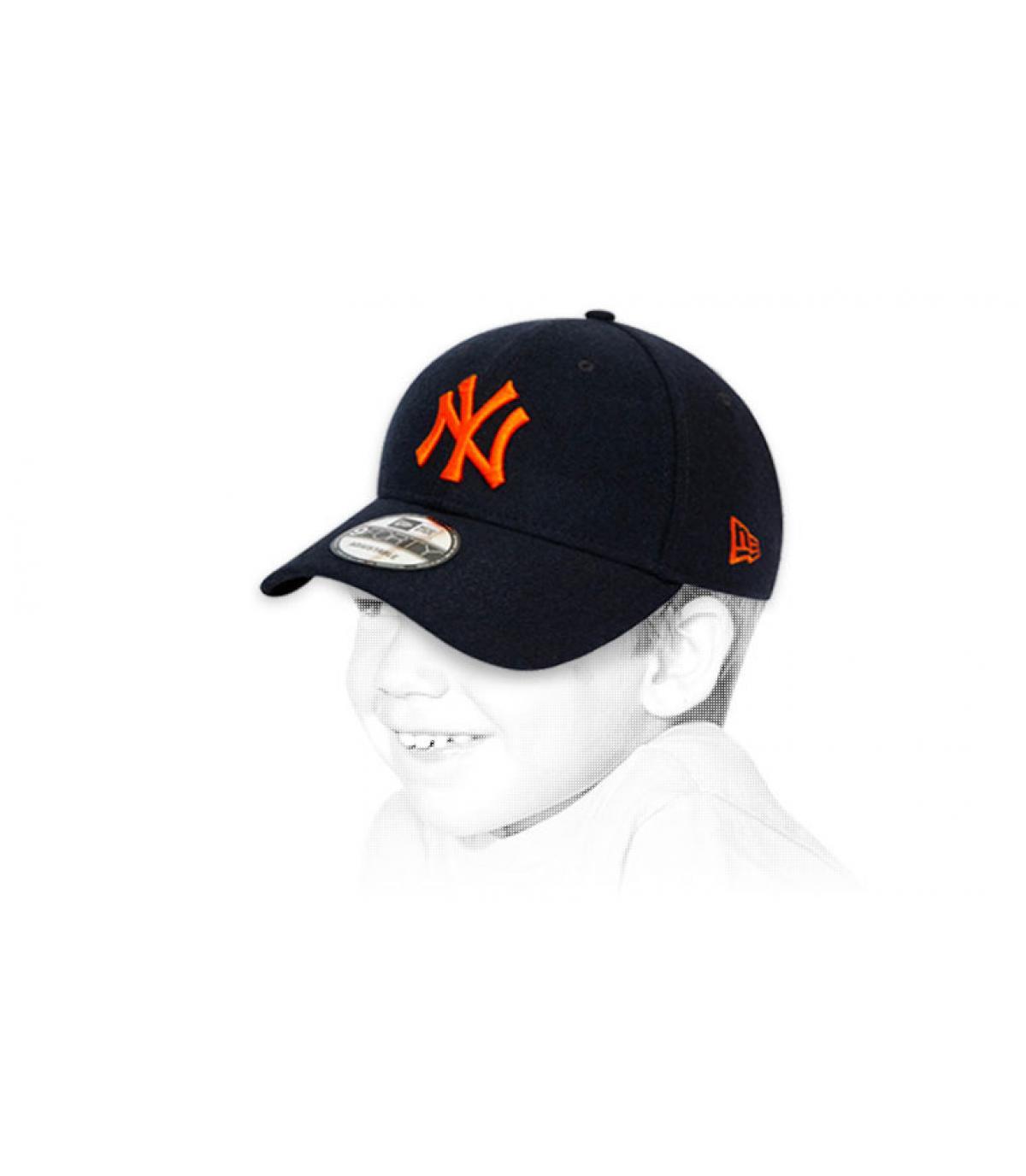 zwarte NY kindermuts