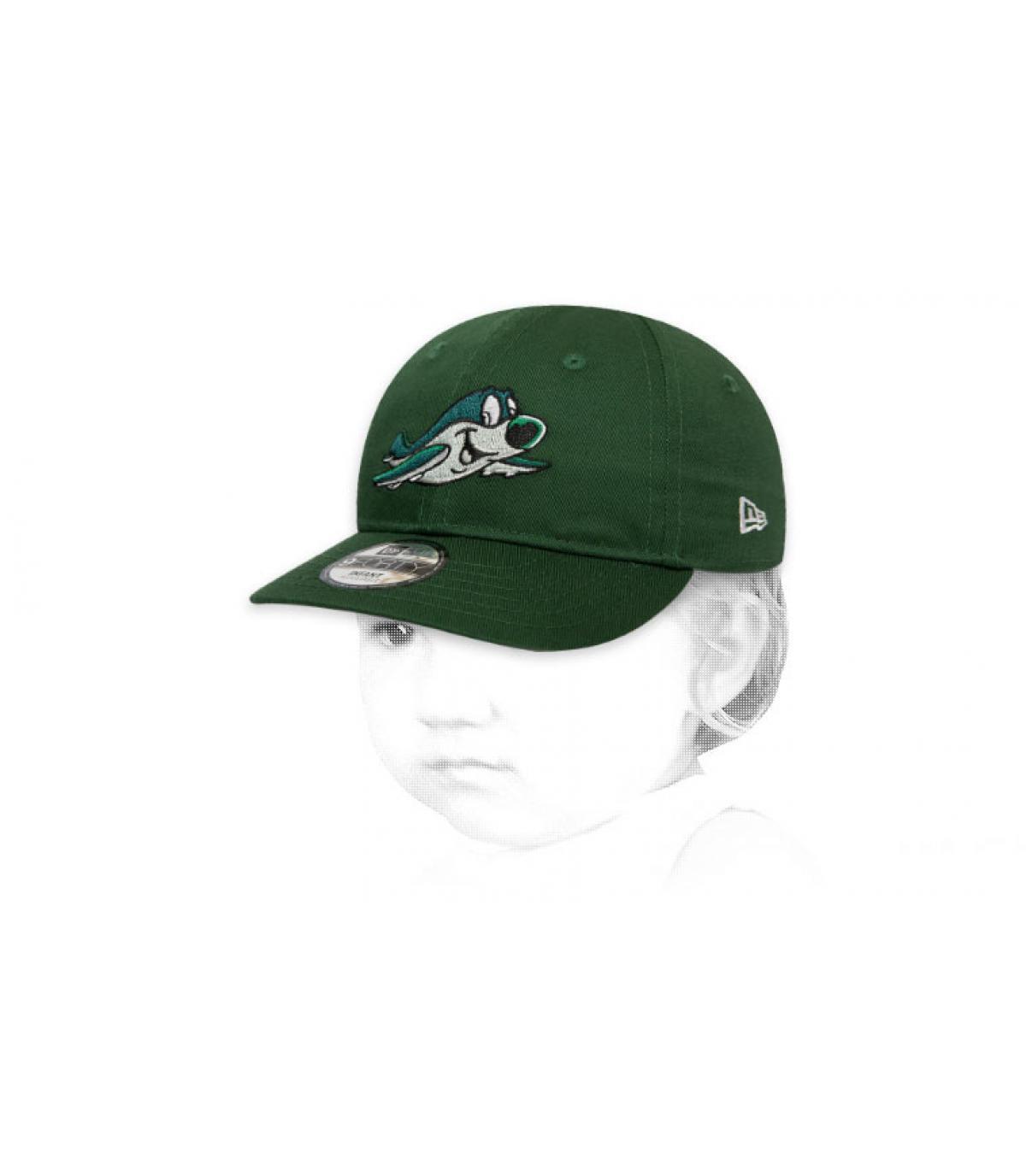 groene baby jets cap