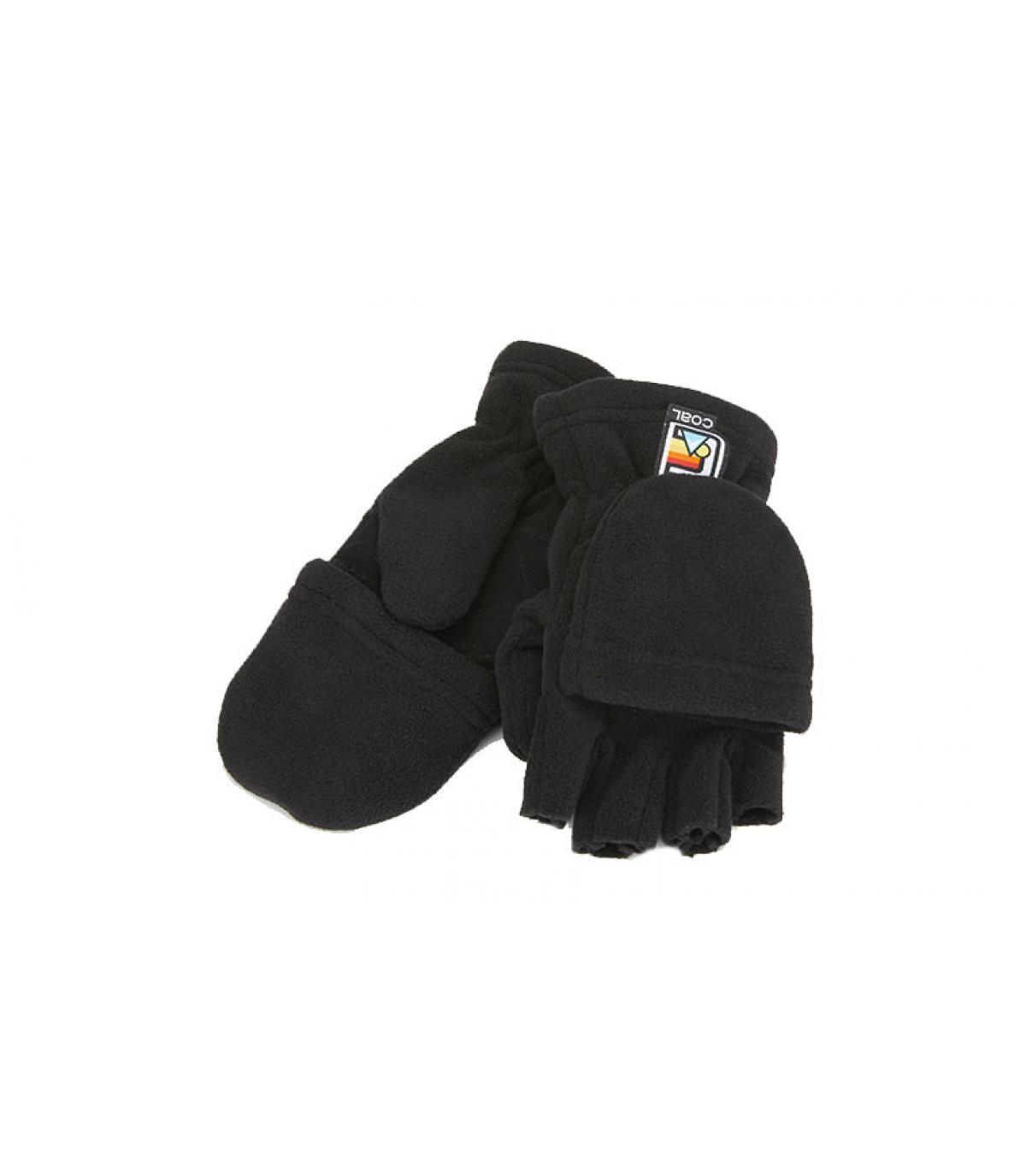 wanten handschoenen zwart Coal